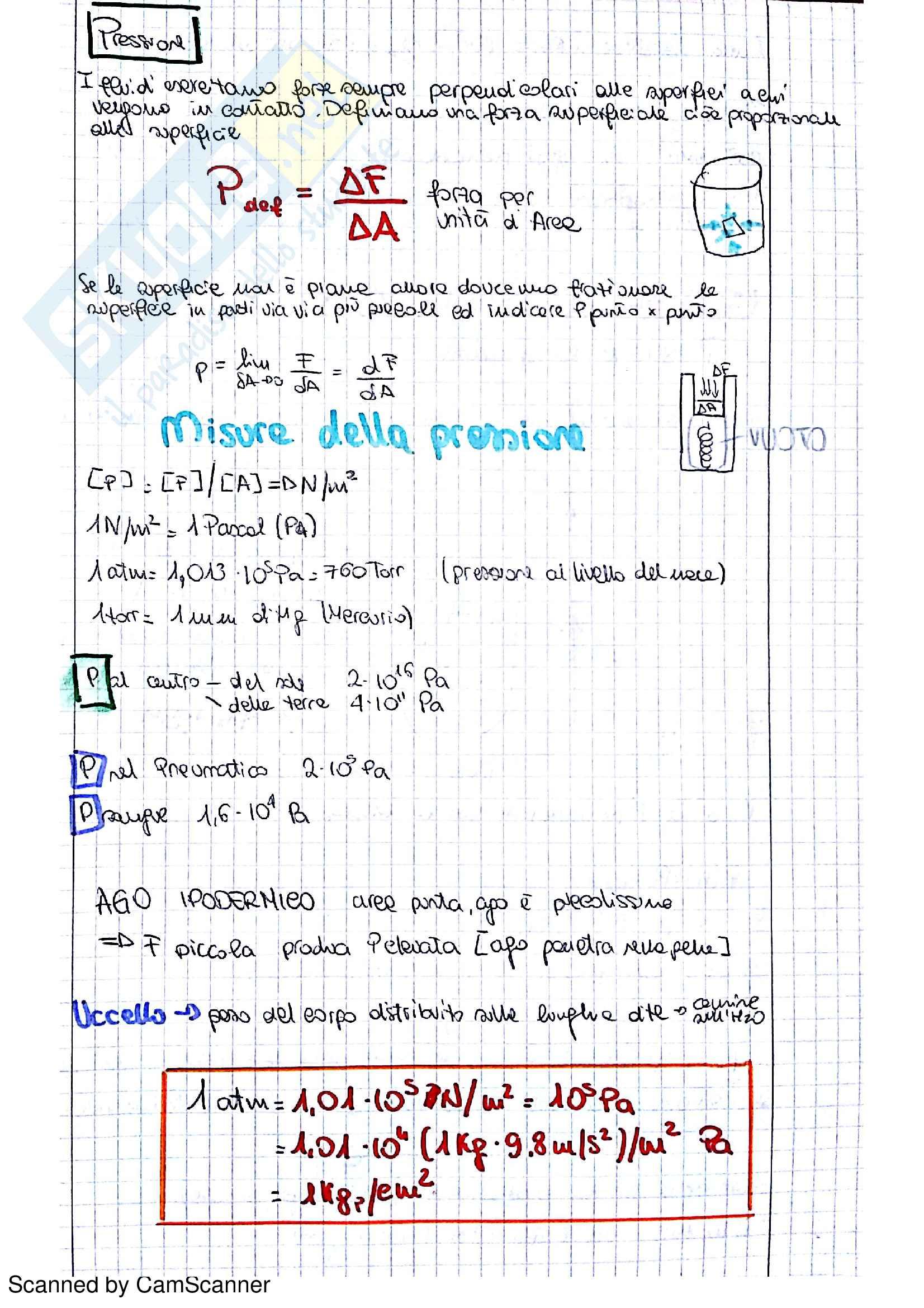 Appunti Fluidi Università Pag. 2