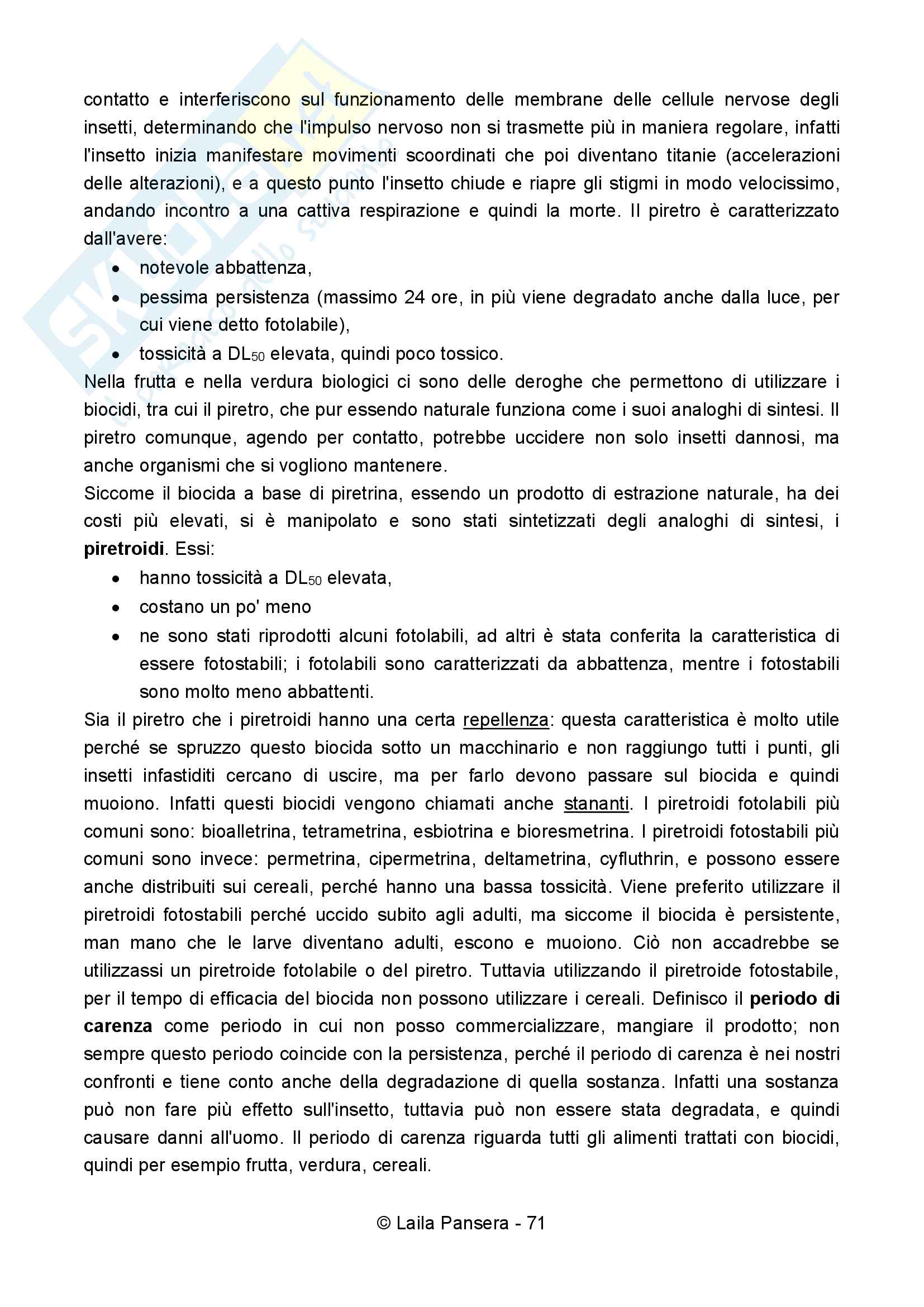 Difesa integrata degli infestanti Pag. 71