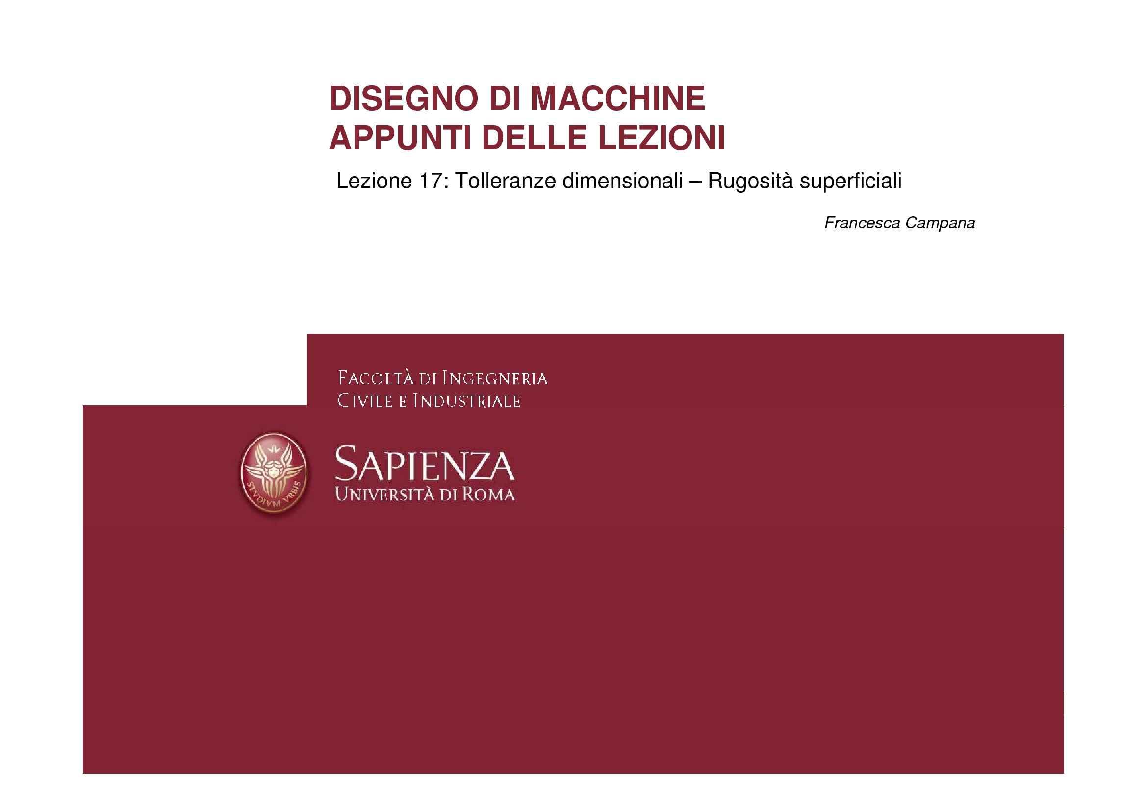 dispensa F. Campana Disegno di Macchine