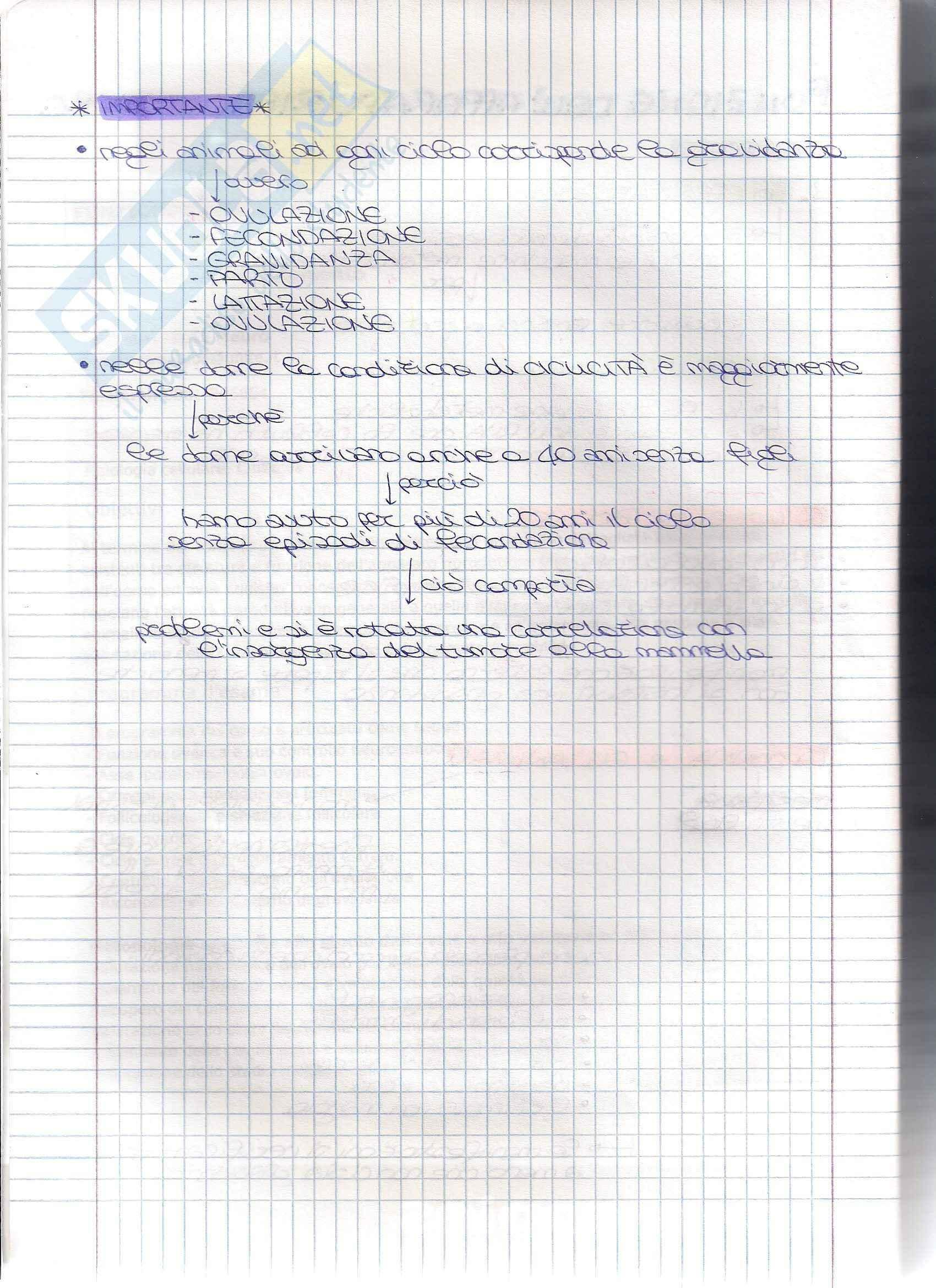 Struttura e funzione dell'apparato riproduttore - Appunti Pag. 2
