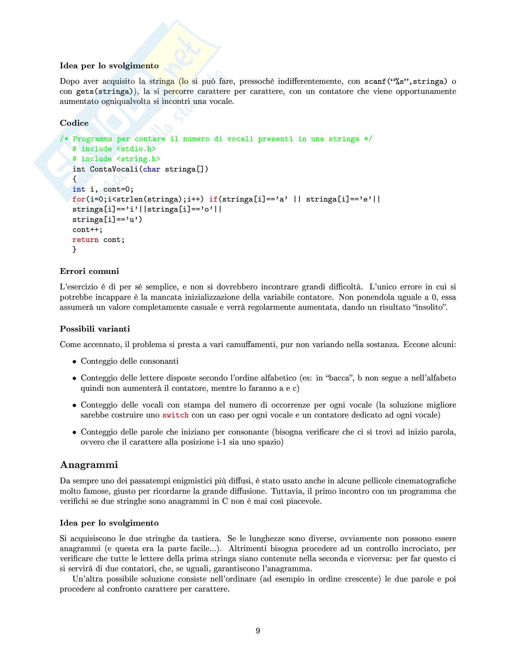 Appunti di Informatica Pag. 11