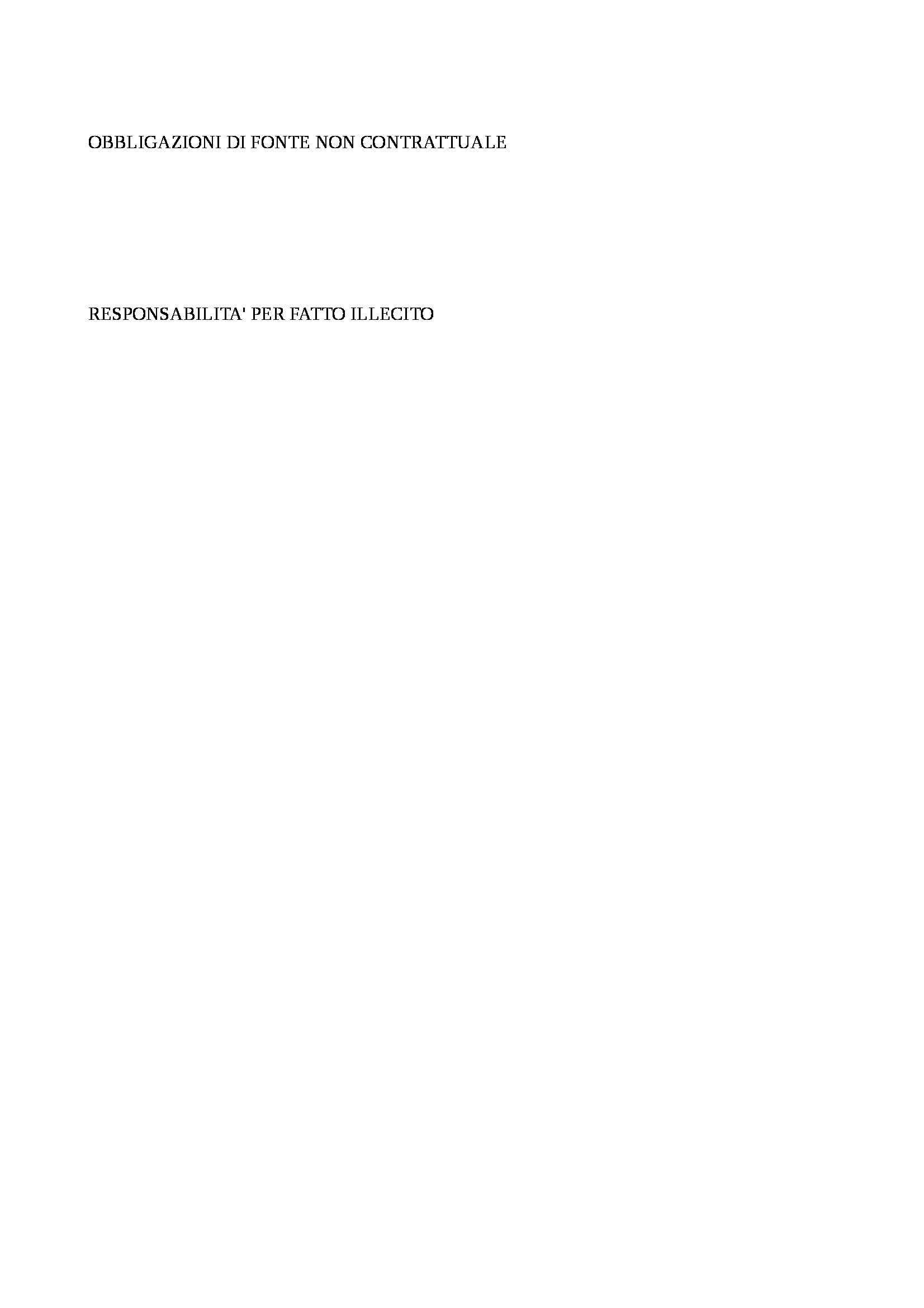 Diritto privato - Obbligazioni Pag. 11