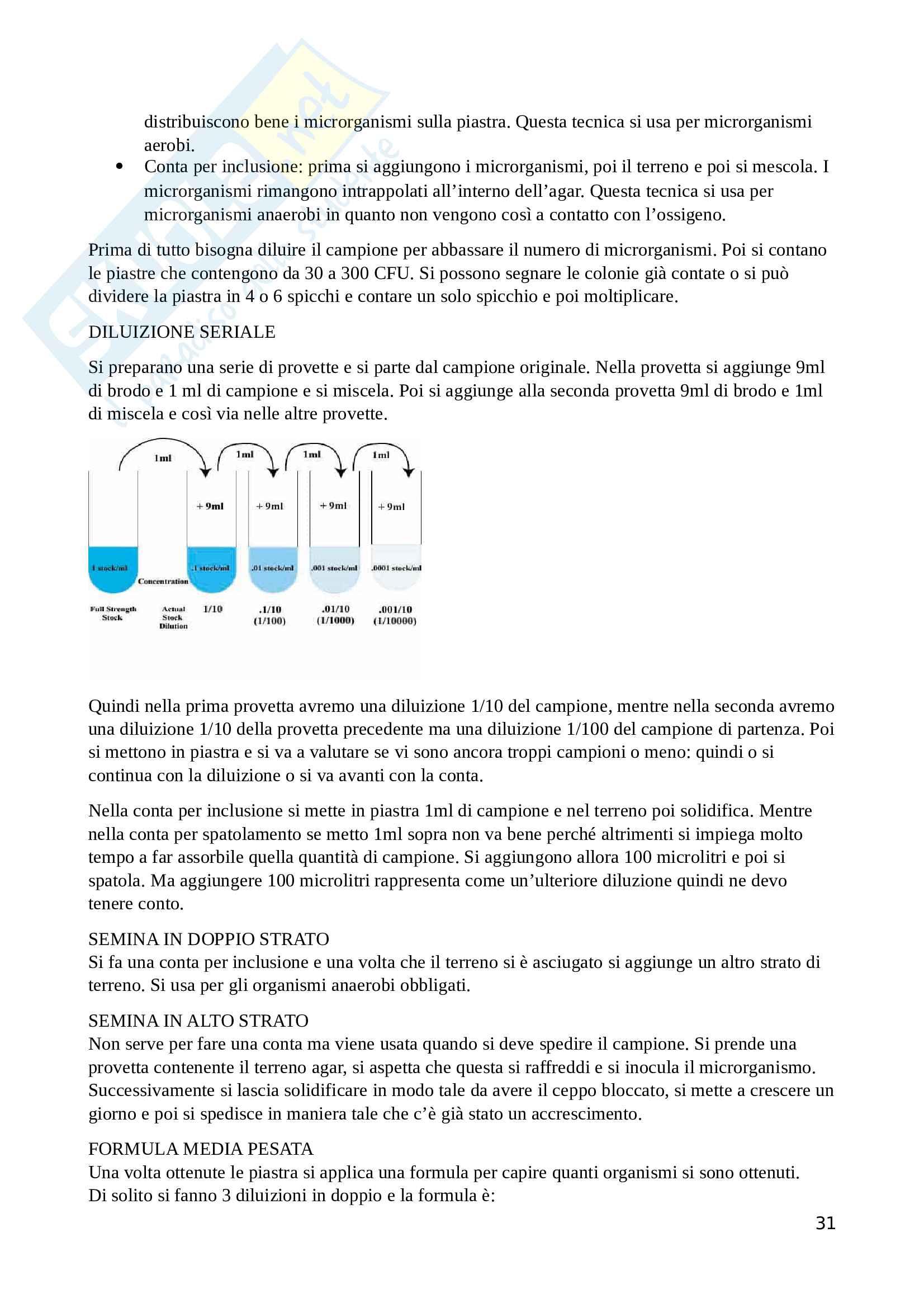 Ecologia del microbiota umano ed elementi di metagenomica Pag. 31