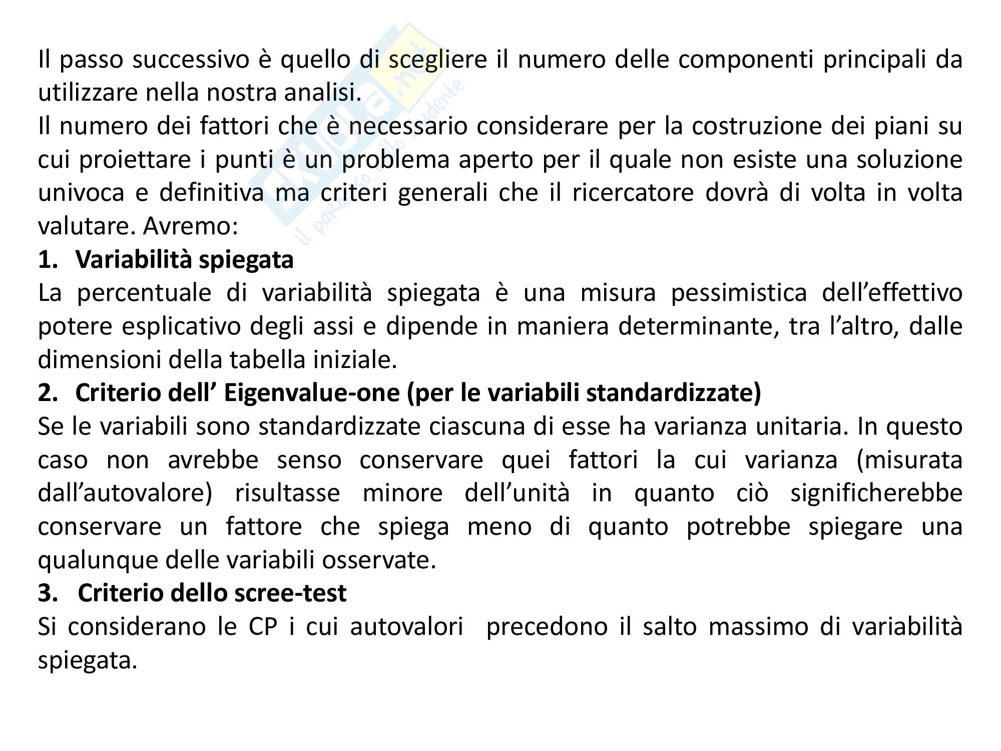 Data Mining- Analisi in Componenti Principali Pag. 16