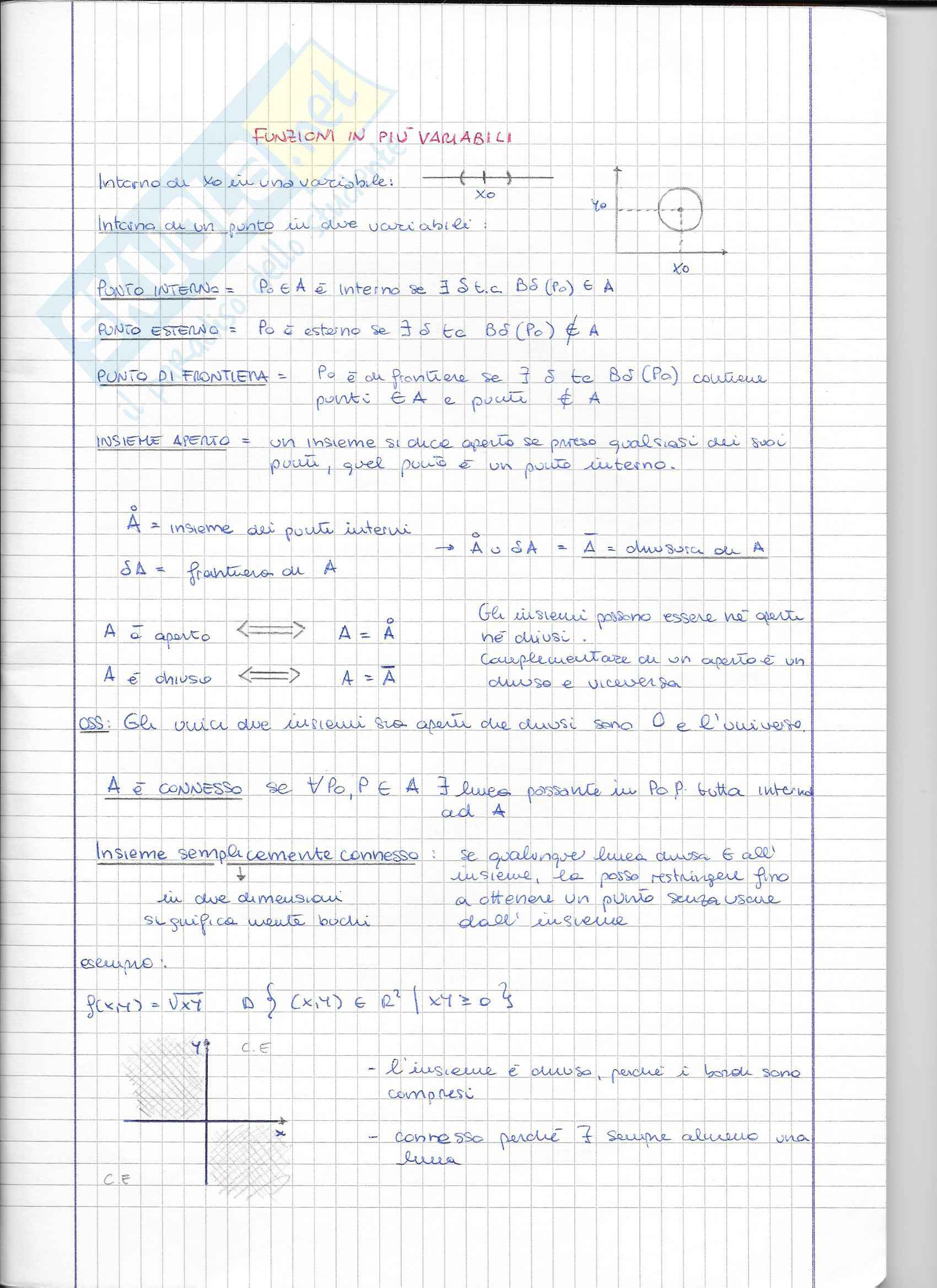 Quaderno analisi 2