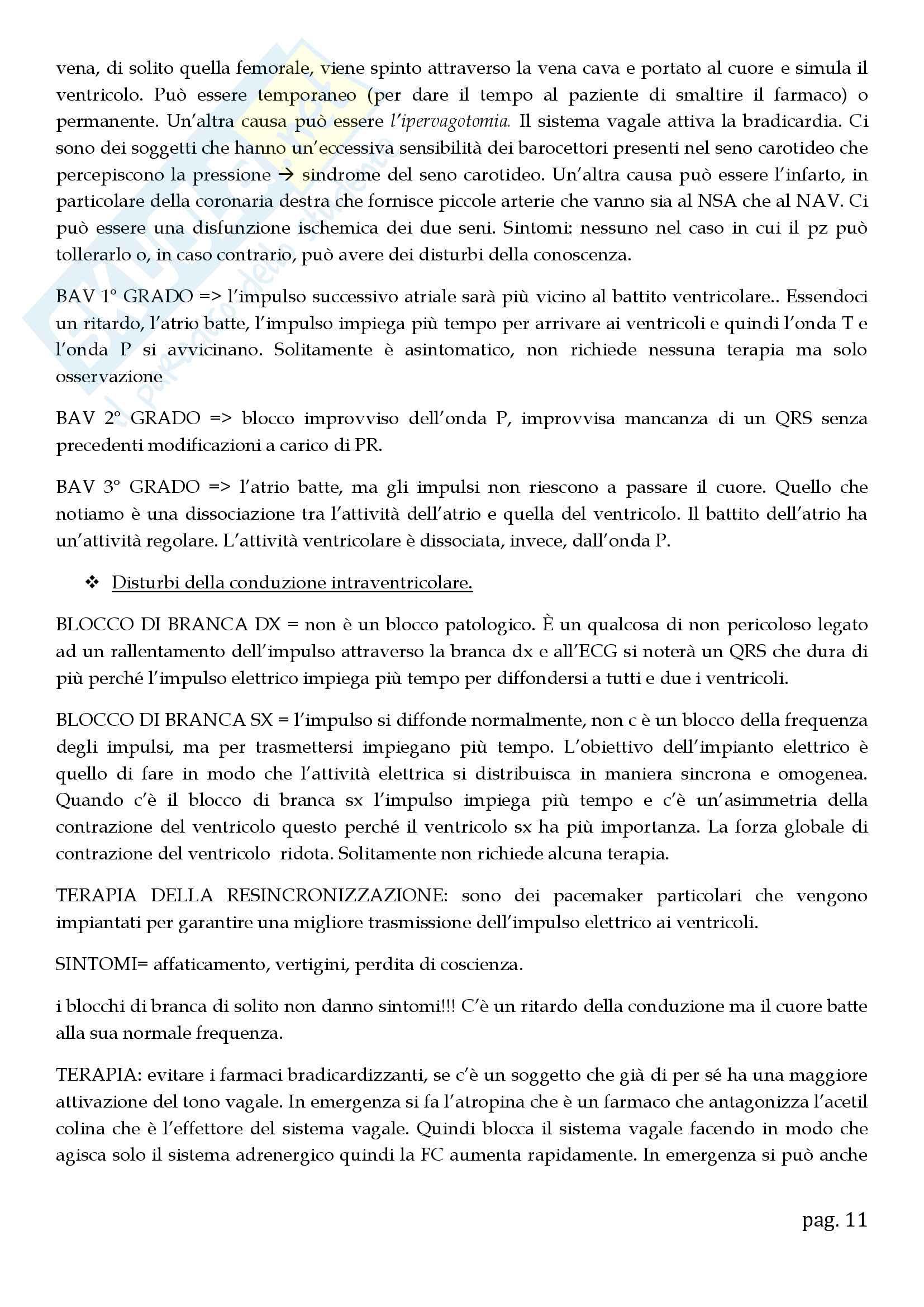 Cardiologia - appunti Pag. 11