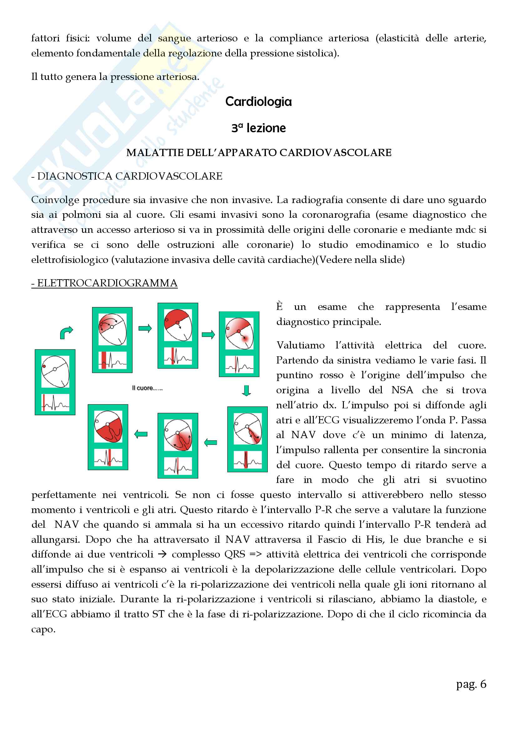 Cardiologia - appunti Pag. 6
