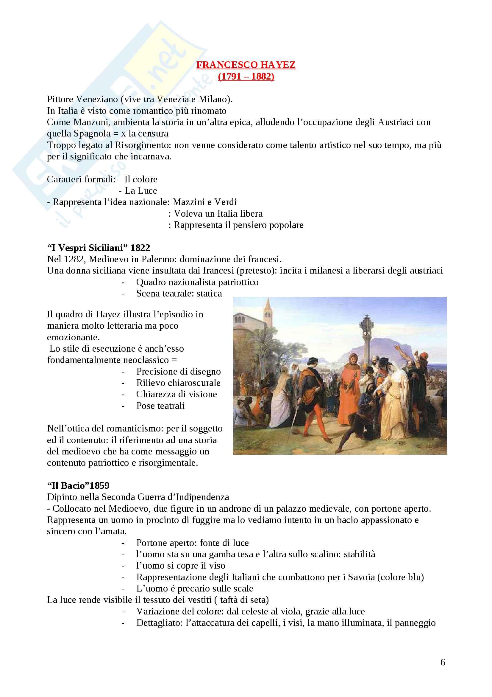 Arte - Romanticismo, Preraffaelliti, Barbizon, Realismo, Macchiaioli, Scapigliatura Pag. 6