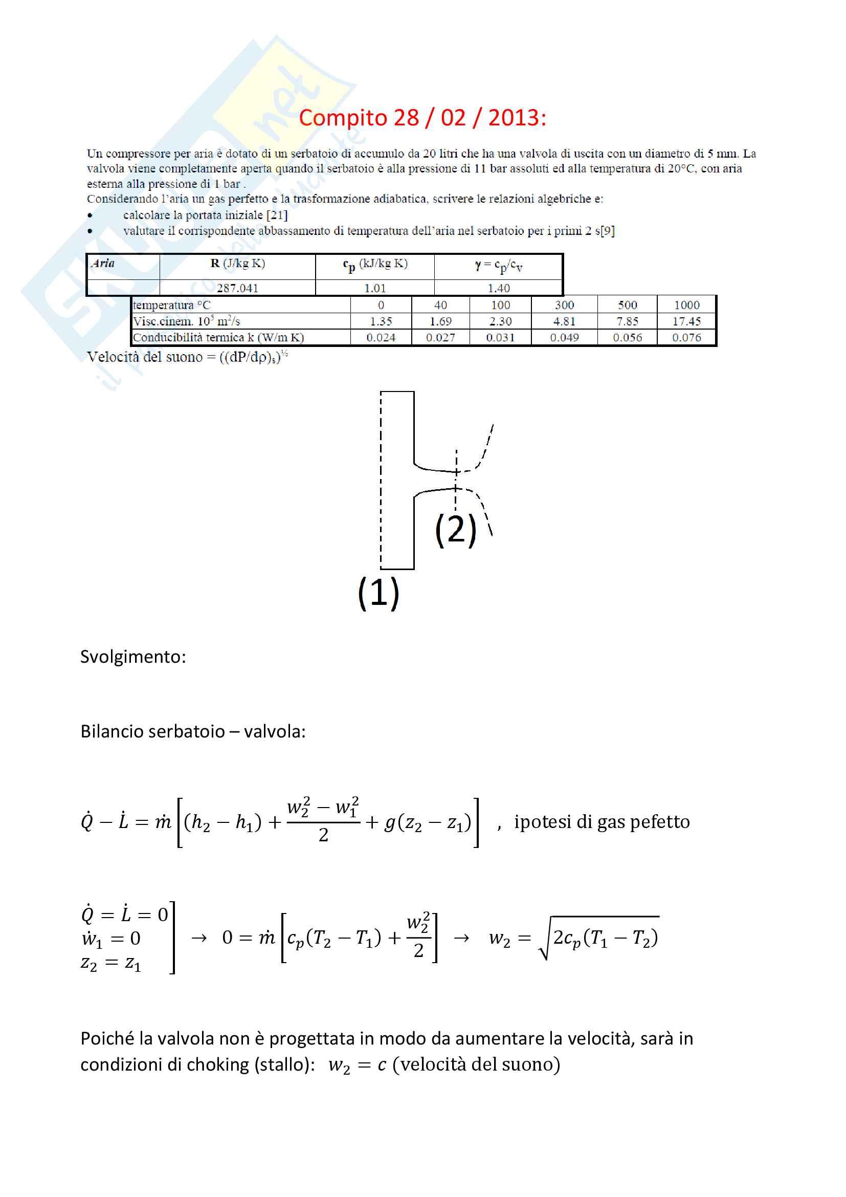 Compiti svolti di fisica tecnica Pag. 41