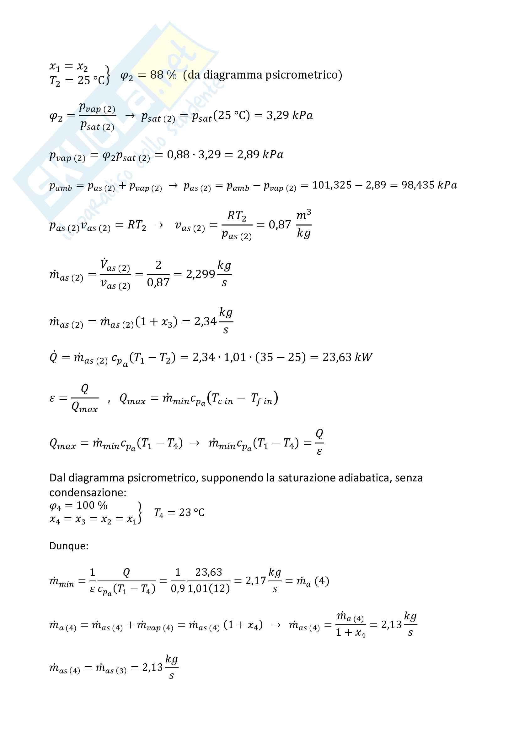 Compiti svolti di fisica tecnica Pag. 51