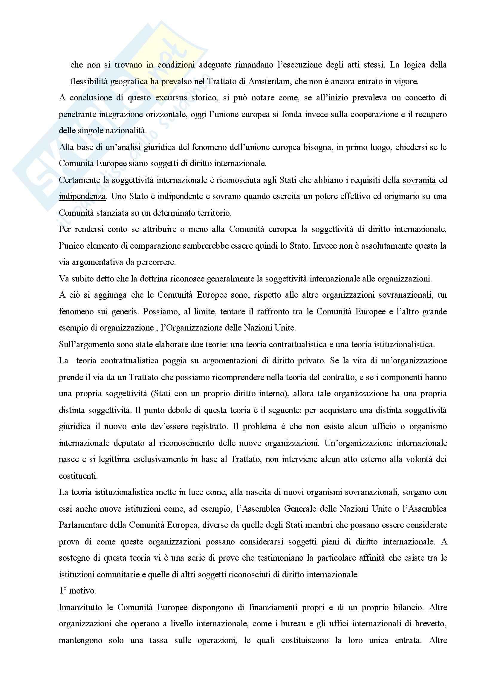 Diritto dell'Unione Europea Pag. 6