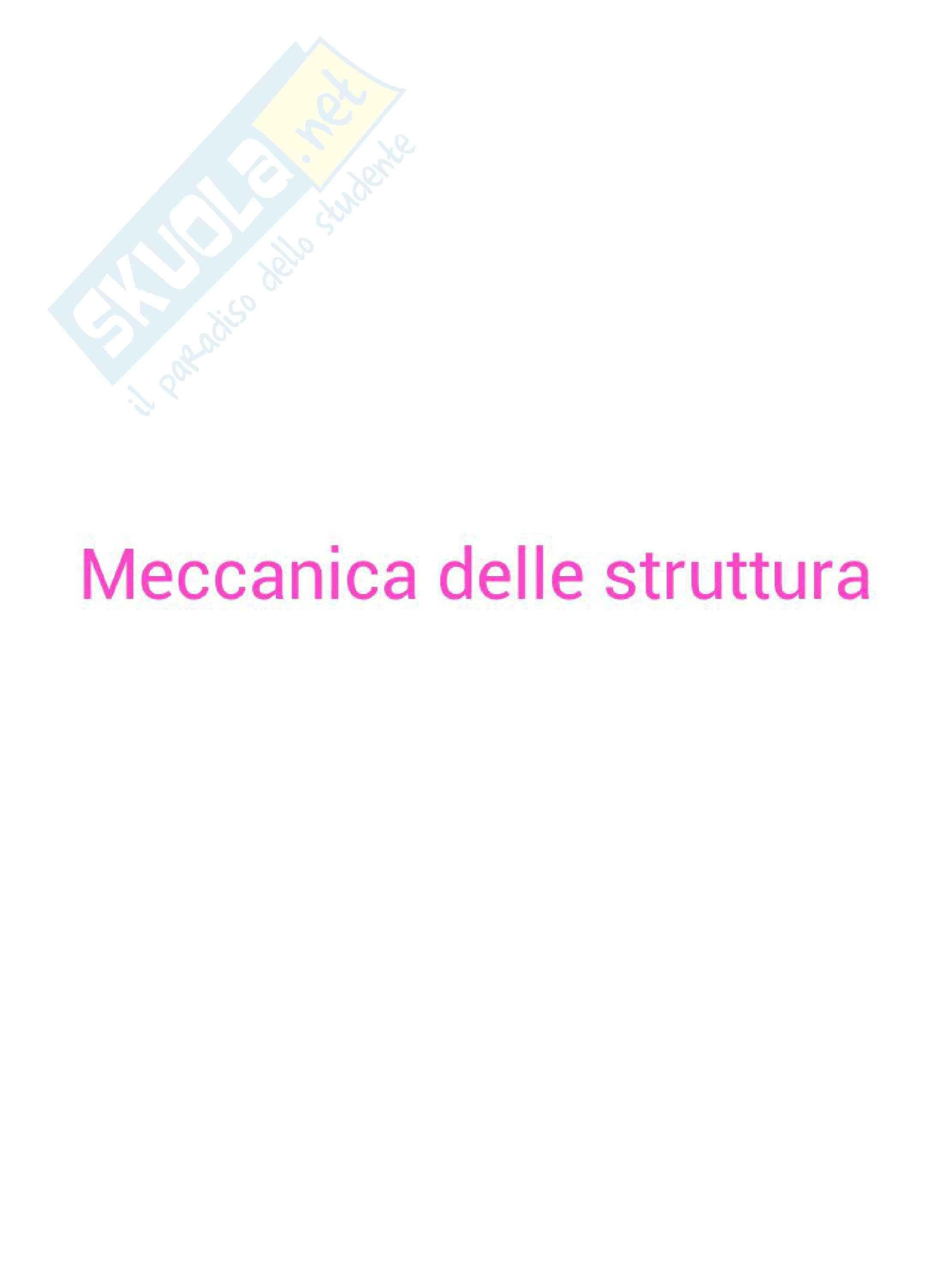 Meccanica delle strutture / statica