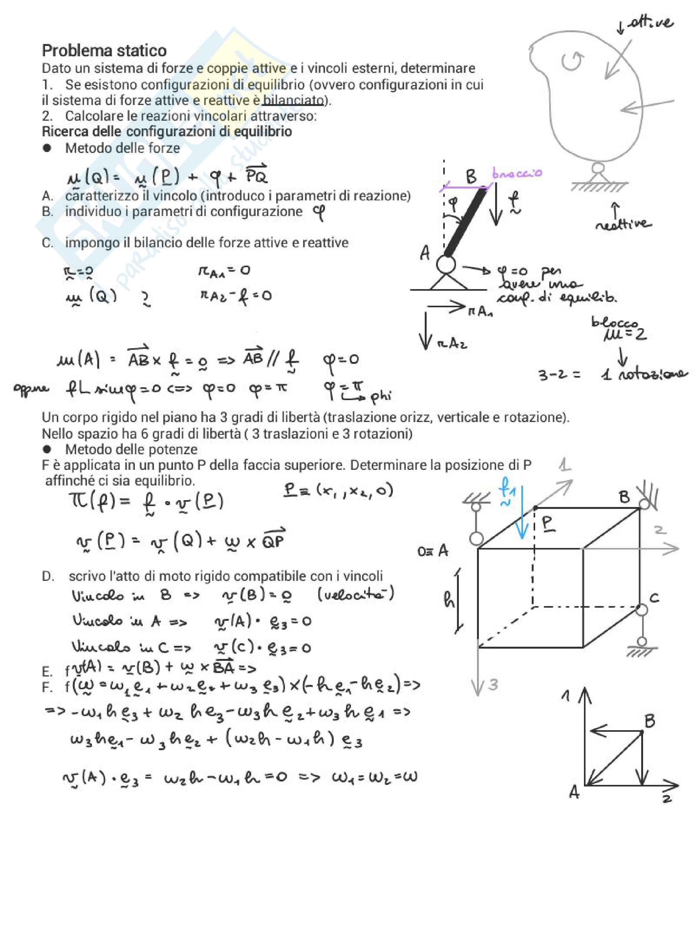 Meccanica delle strutture / statica Pag. 31