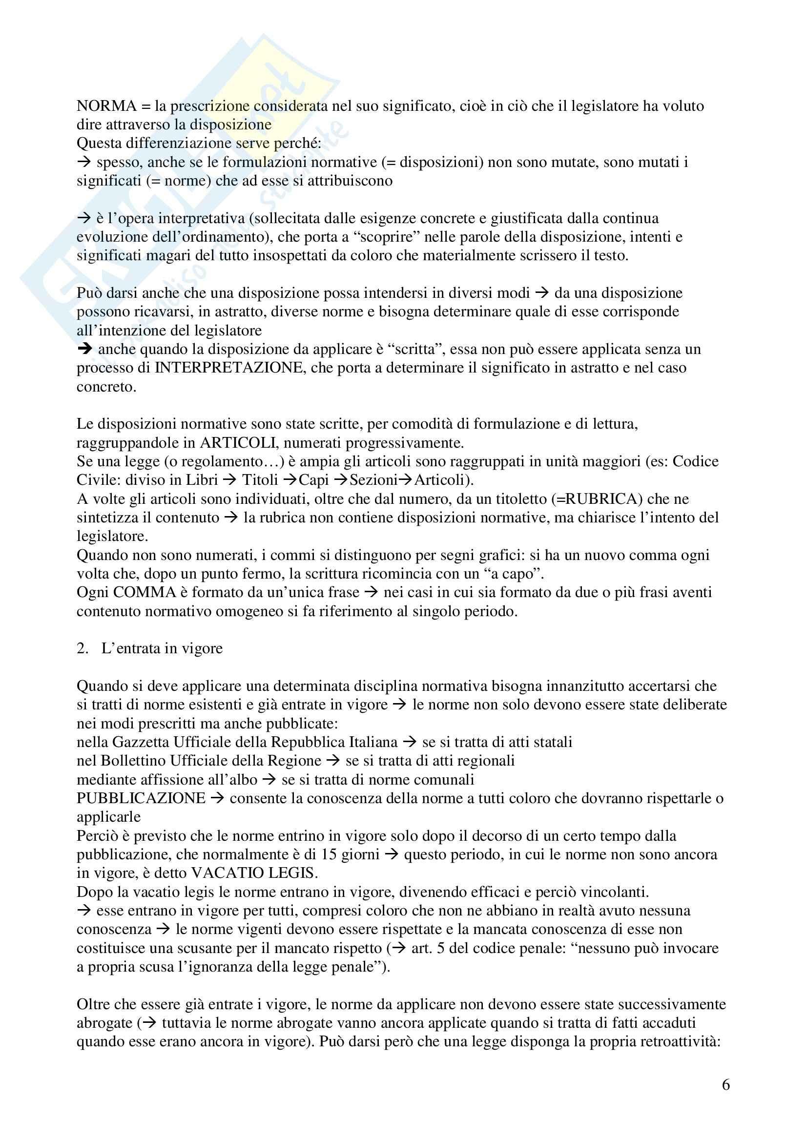 Diritto costituzionale - Appunti Pag. 6