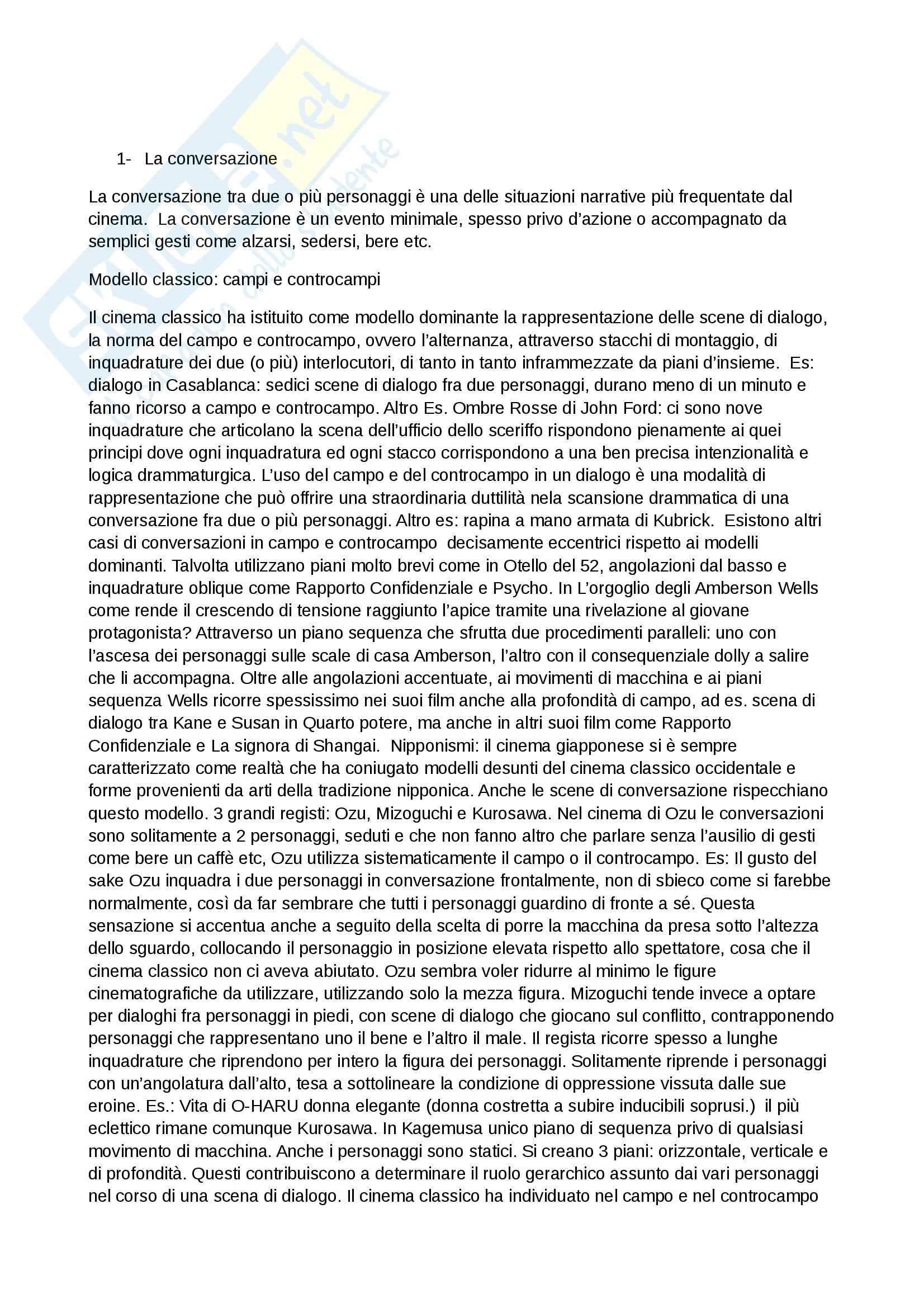 appunto D. Tomasi Storia del cinema