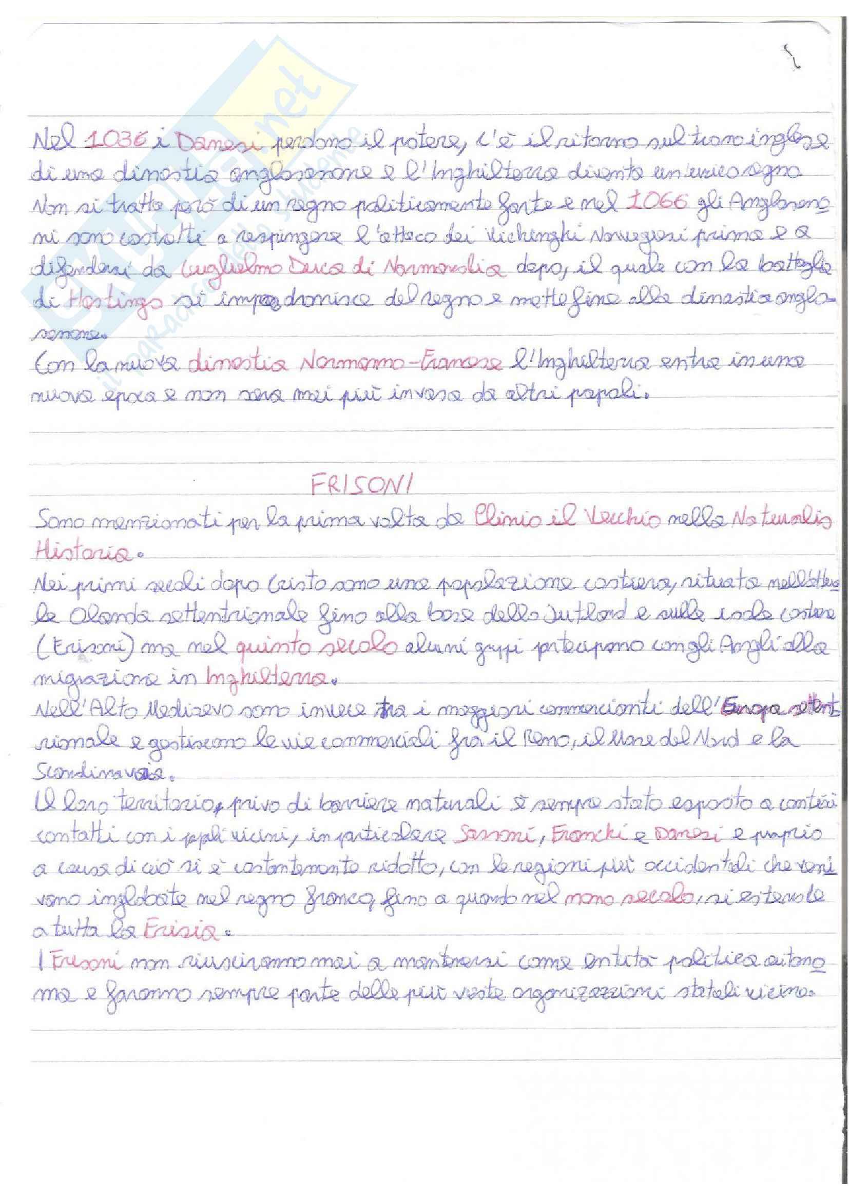 Appunti del corso di filologia germanica, modulo storico Pag. 16