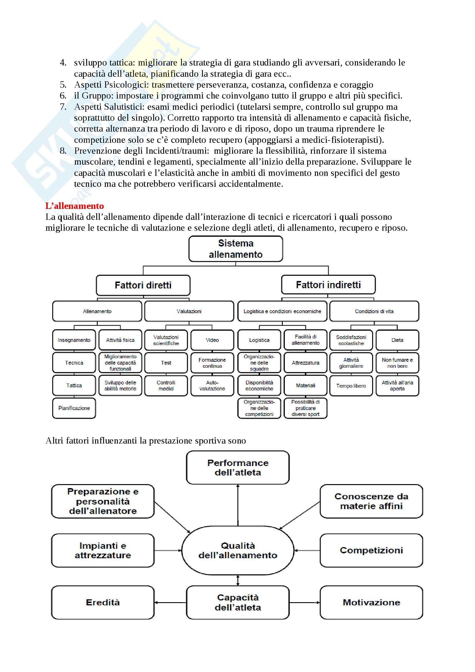Riassunto esame Teoria dell'allenamento Pag. 2