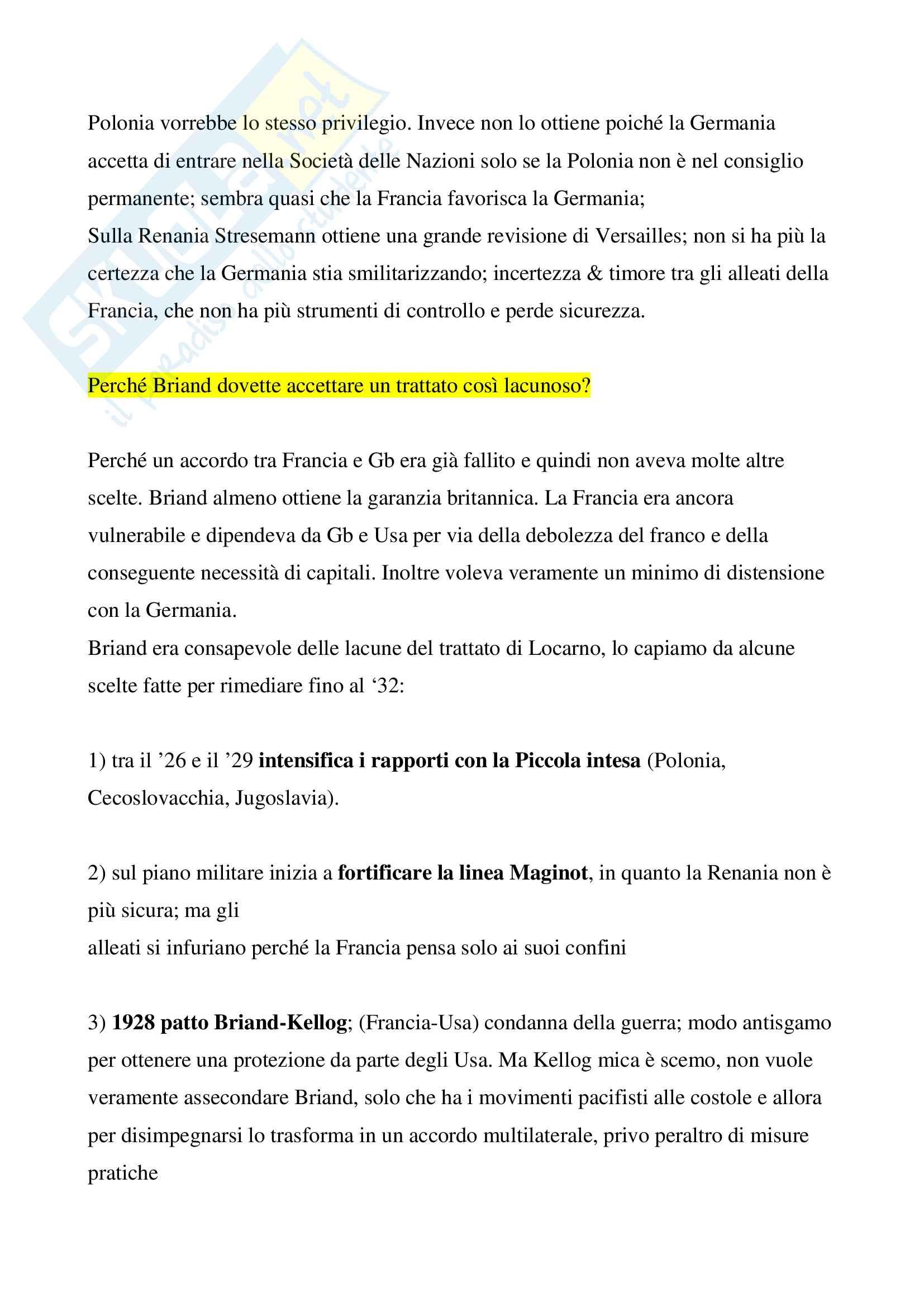 Trattati di Locarno 1925 Pag. 6