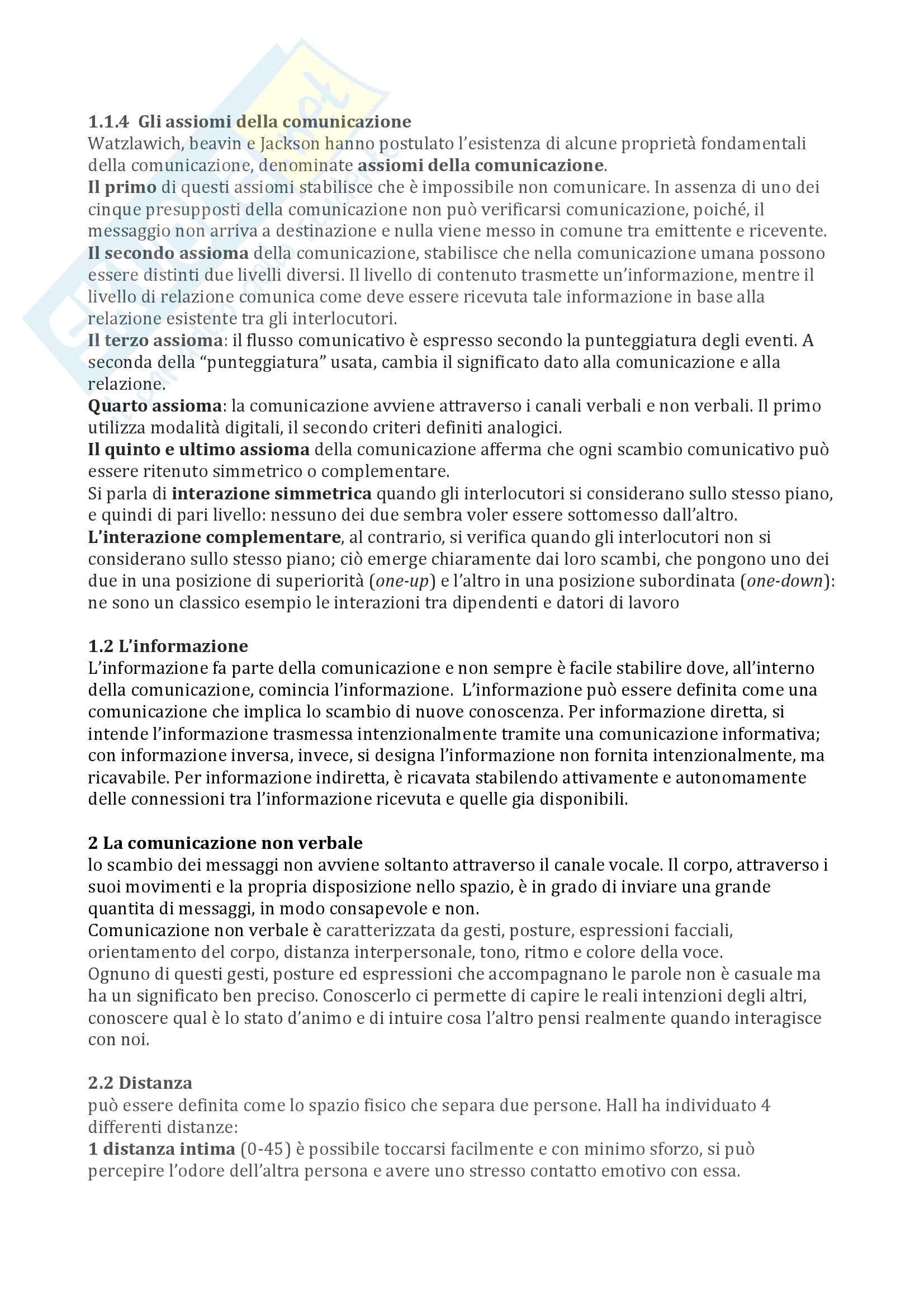 Riassunto esame psicologia dei comportamenti a rischio, prof. Proietti, libro consigliato Dalla teoria generale dei sistemi alla teoria dell'attaccamento, Picardi Pag. 2