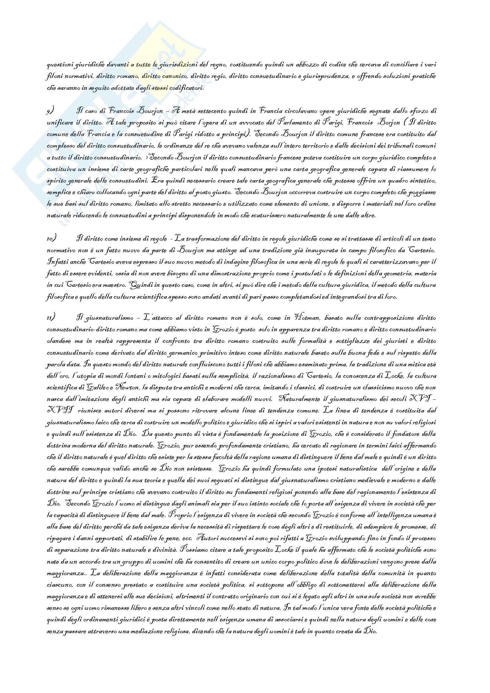 Riassunto esame Storia del Diritto Italiano, prof. Petronio, libro consigliato Lotta per la Codificazione, Petronio Pag. 31