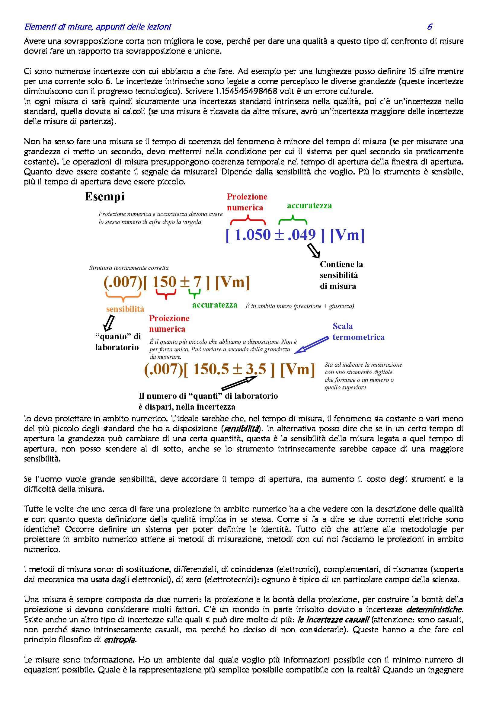 Elementi di misure elettroniche - Appunti Pag. 6