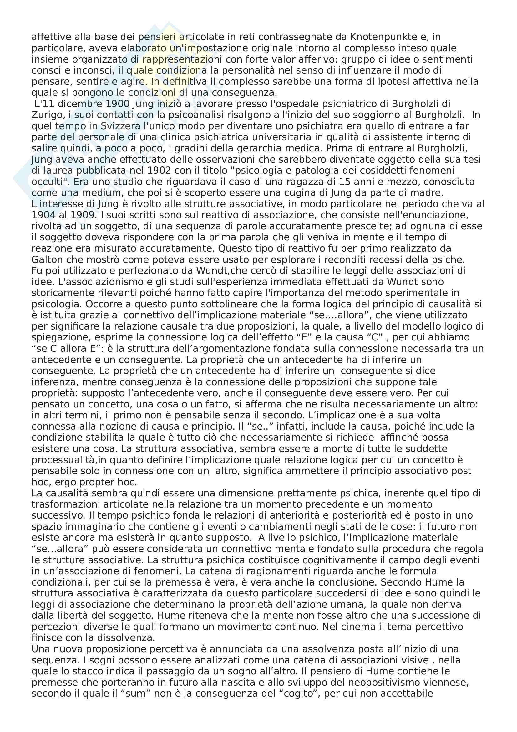 Riassunto esame Psicologia dinamica, prof. Menarini, libro consigliato Freud e Jung: Temi e motivi dell'inconscio Pag. 21