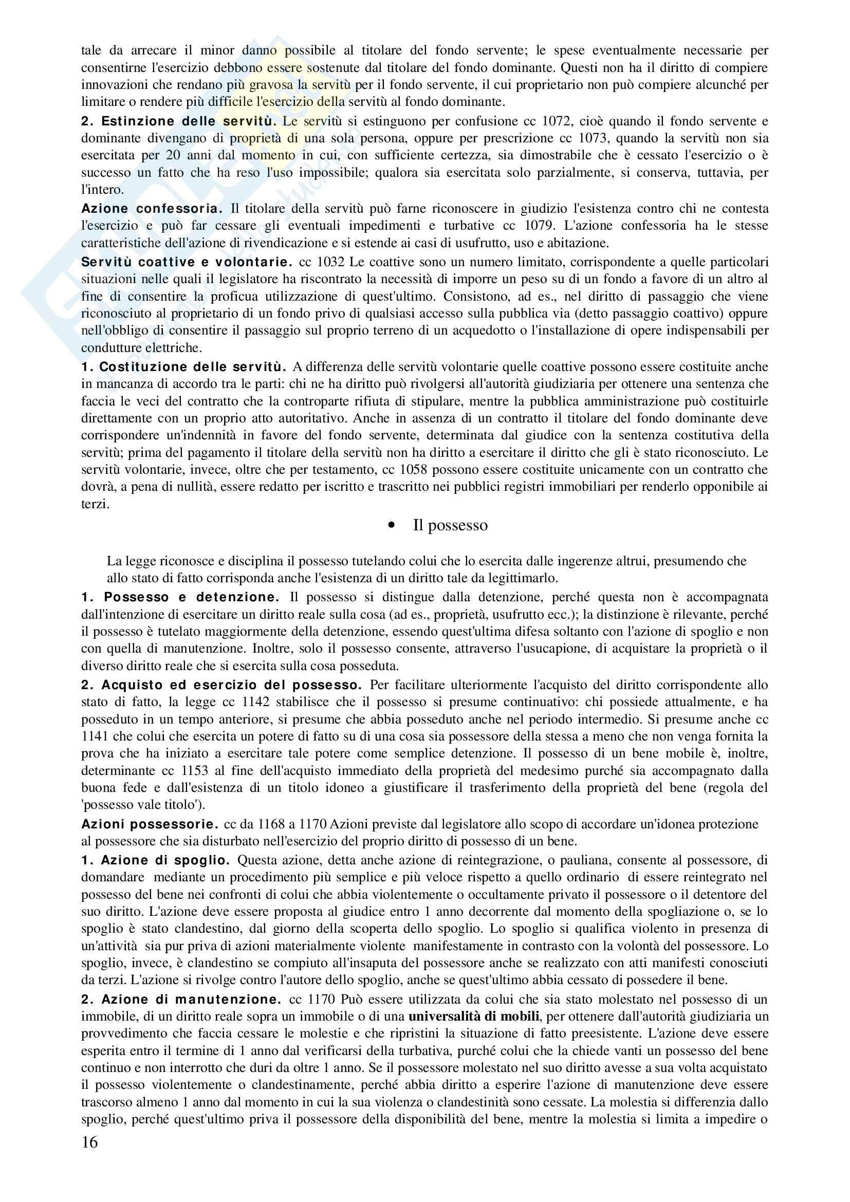 Diritto Privato - Corso completo Pag. 16