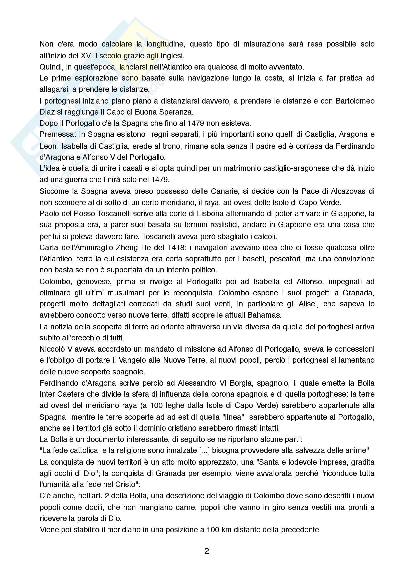 Riassunto esame Storia Moderna, prof. Addobbati Andrea, libro consigliato Storia Moderna, Capra Pag. 2