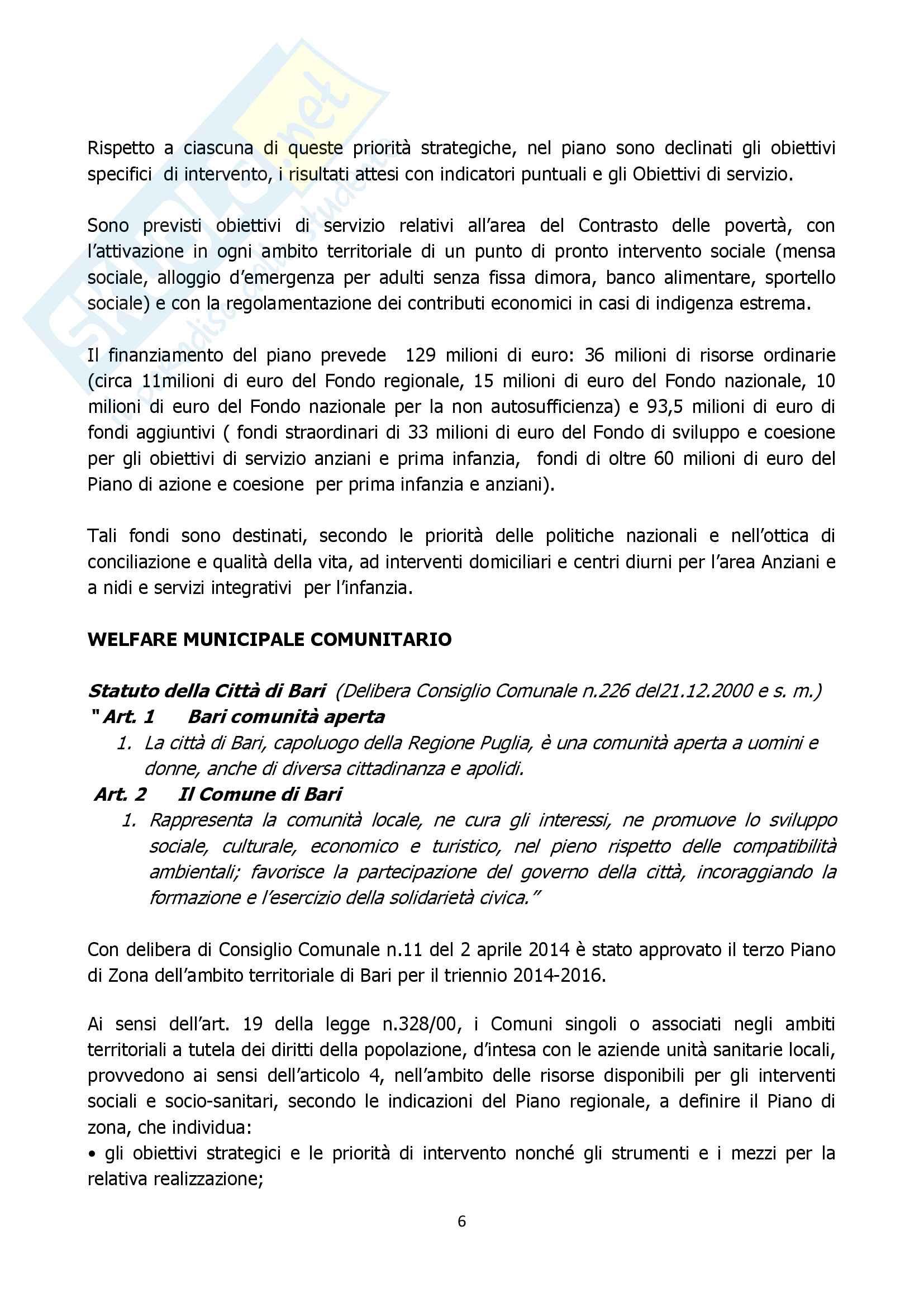 Relazione ruolo assistente sociale comune approfondimento Pag. 6