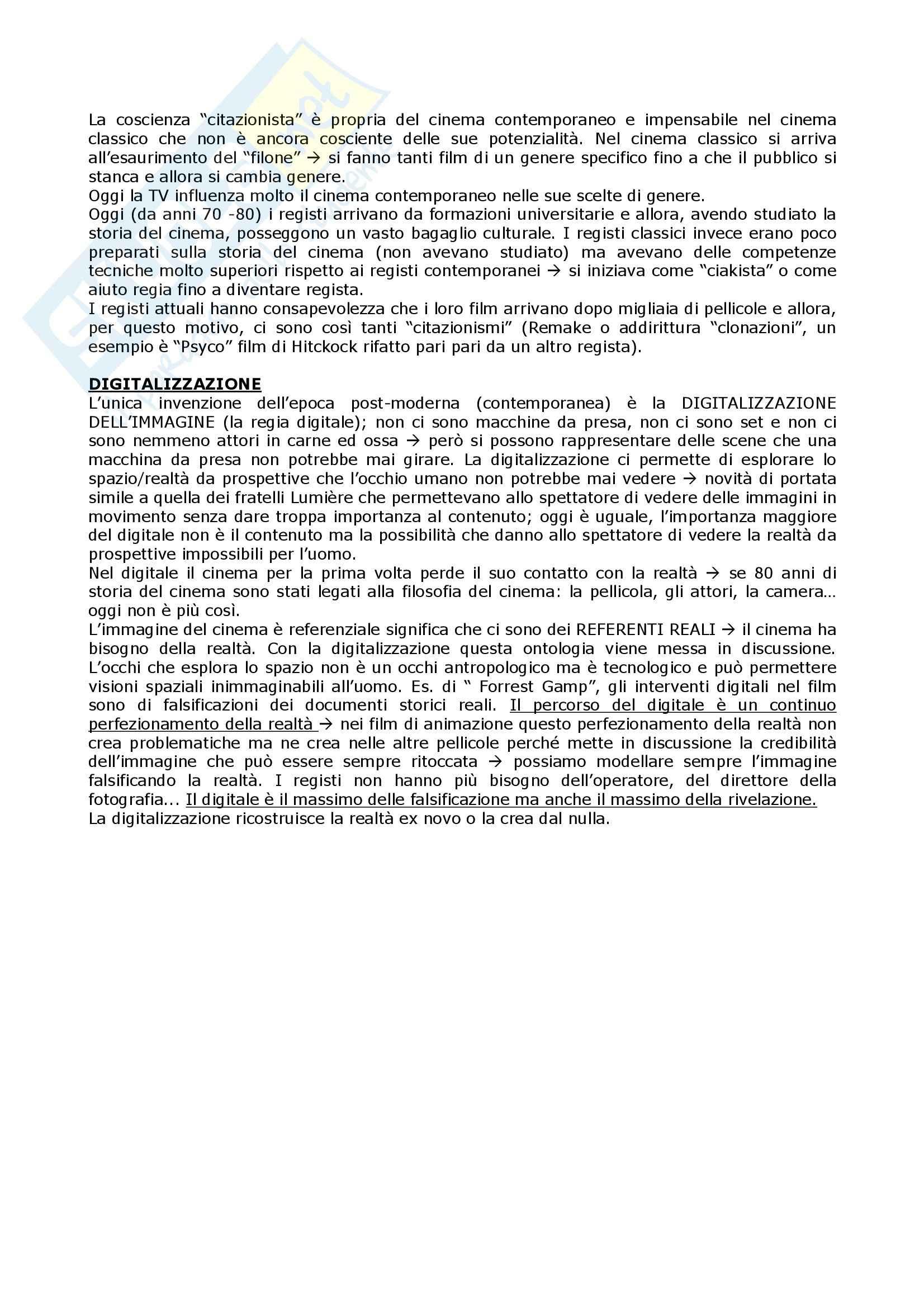 Linguaggi audiovisivi - teorie e tecniche dei linguaggi audiovisivi Pag. 16