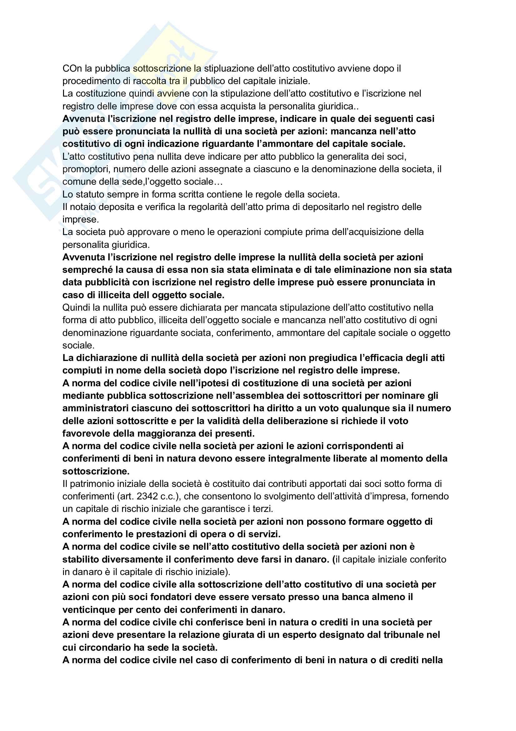 Diritto commerciale - Riassunto e Appunti Pag. 21