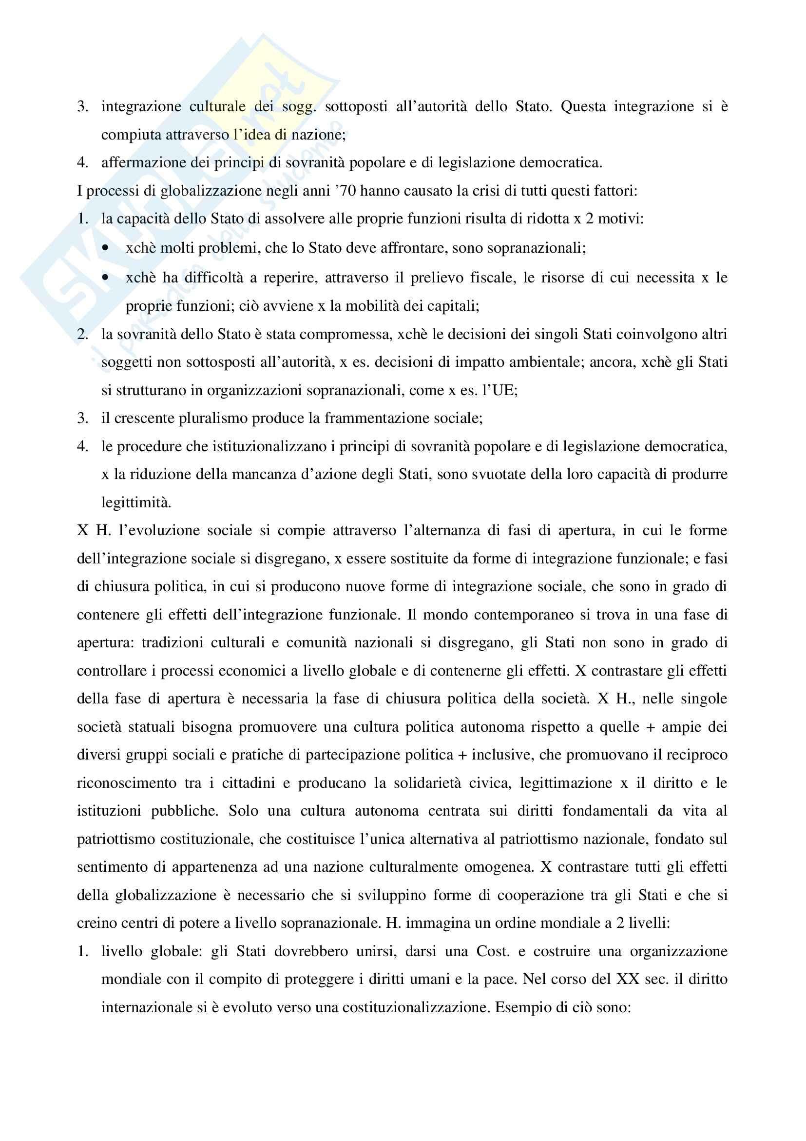 Riassunto esame Sociologia del Diritto, prof. Pannarale, libro consigliato I Diritti Fondamentali Come Istituzione, Luhmann Pag. 21