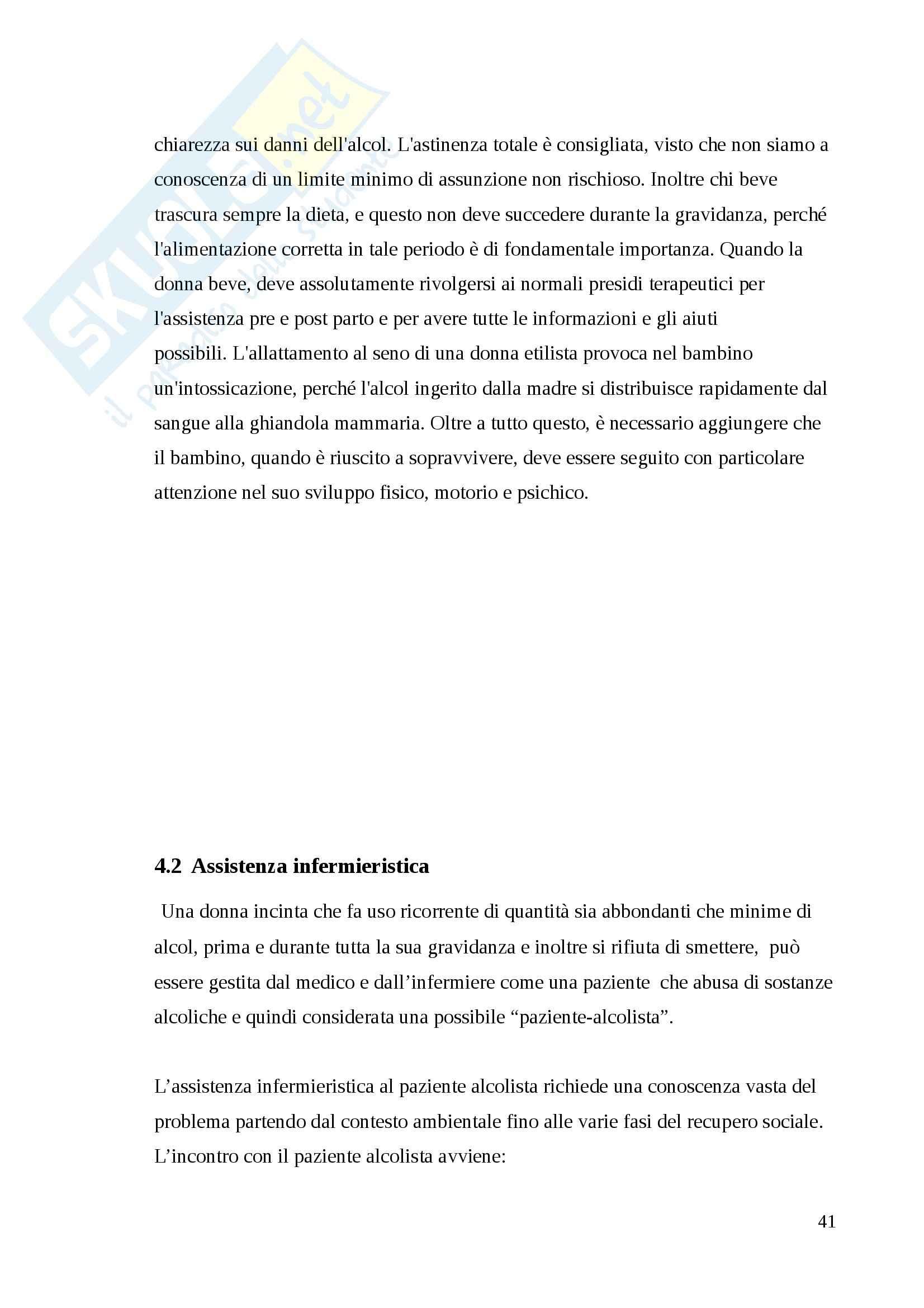 Sindrome fetoalcolica, Pediatria Pag. 41