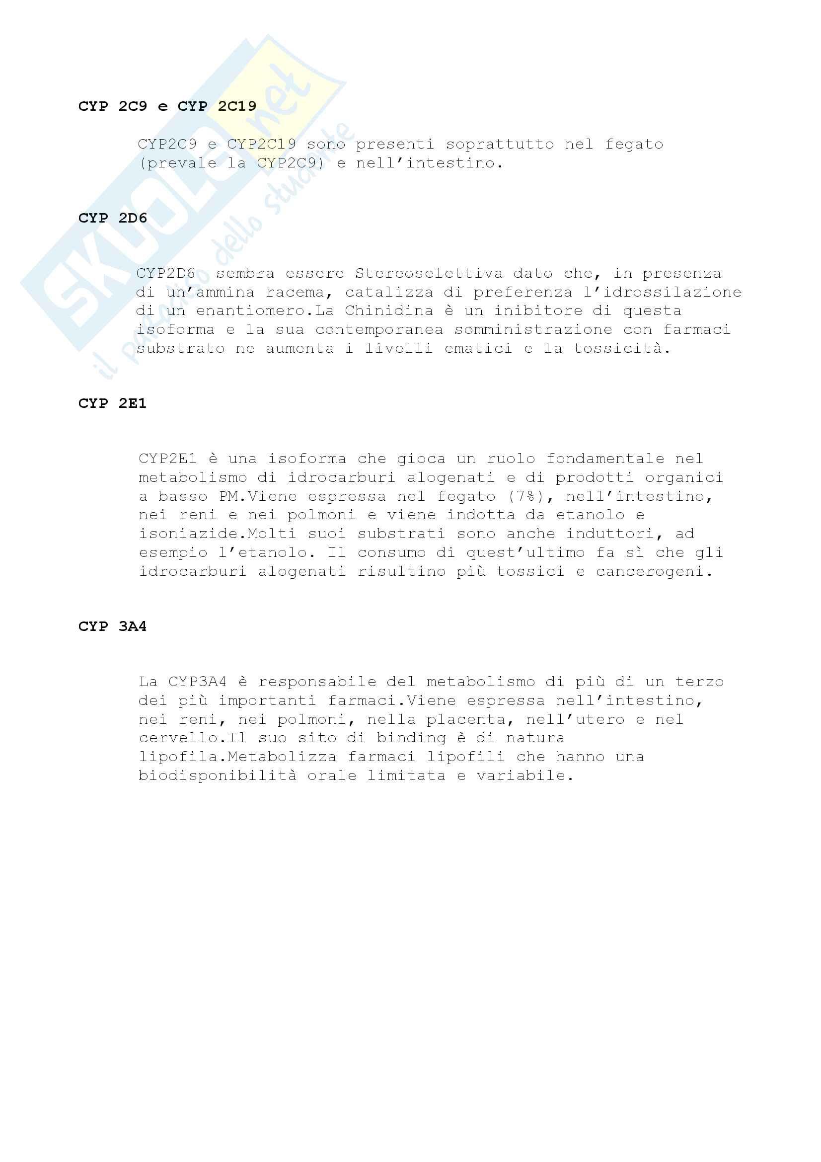 Chimica Farmaceutica e Tossicologica I e Farmaci Pag. 2