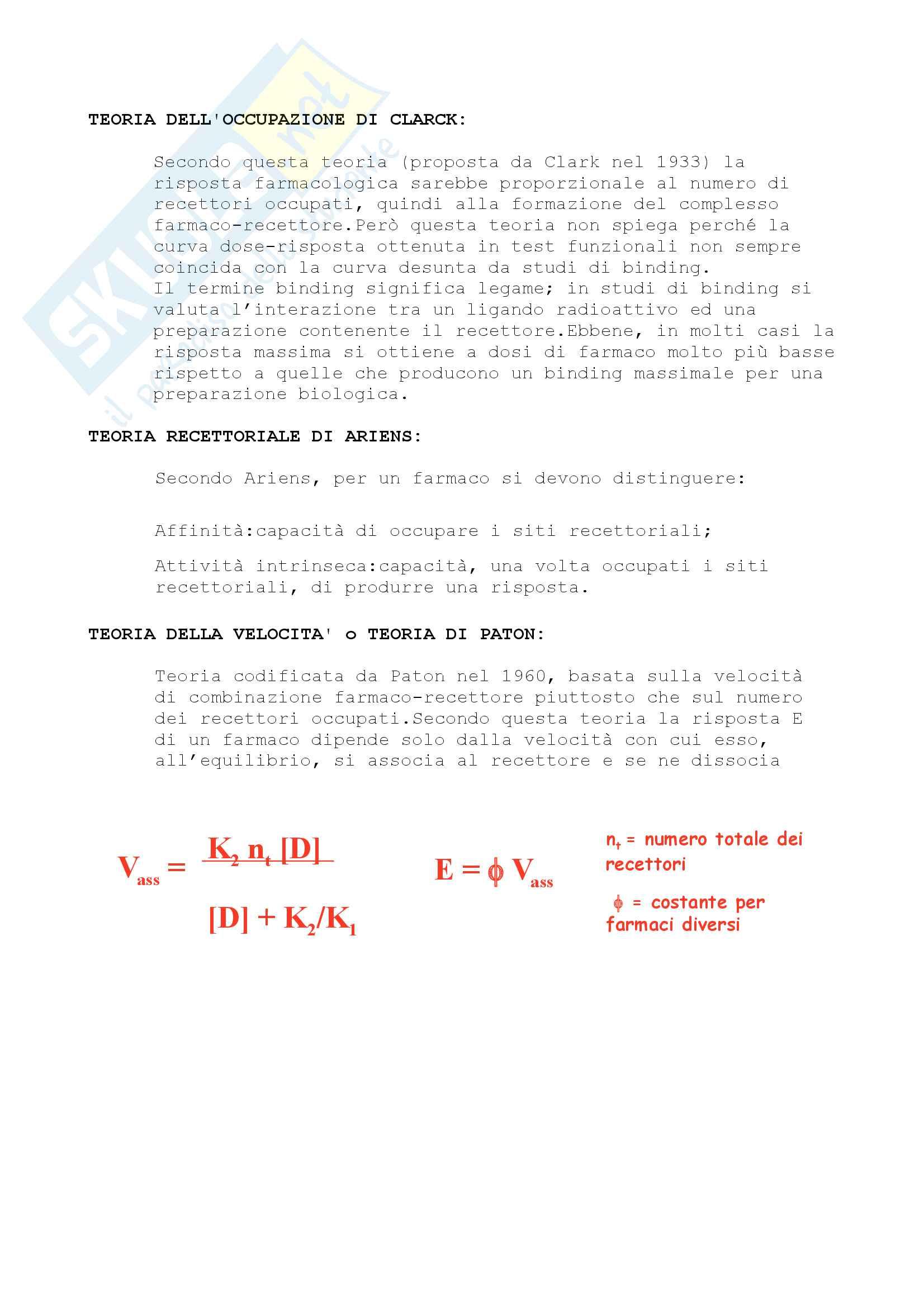 Chimica Farmaceutica e Tossicologica I e Farmaci Pag. 21