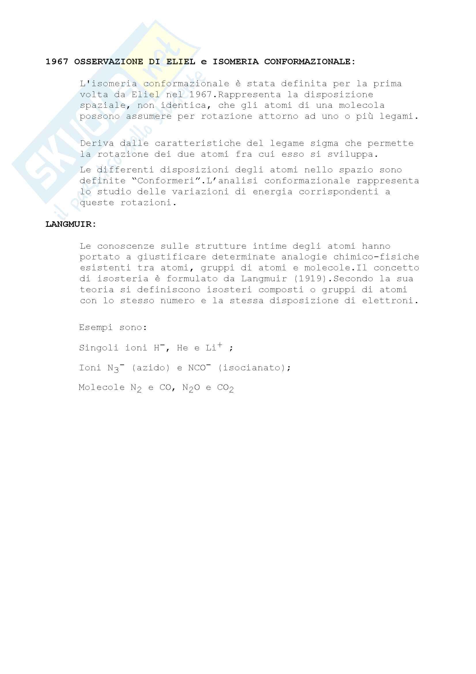 Chimica Farmaceutica e Tossicologica I e Farmaci Pag. 26