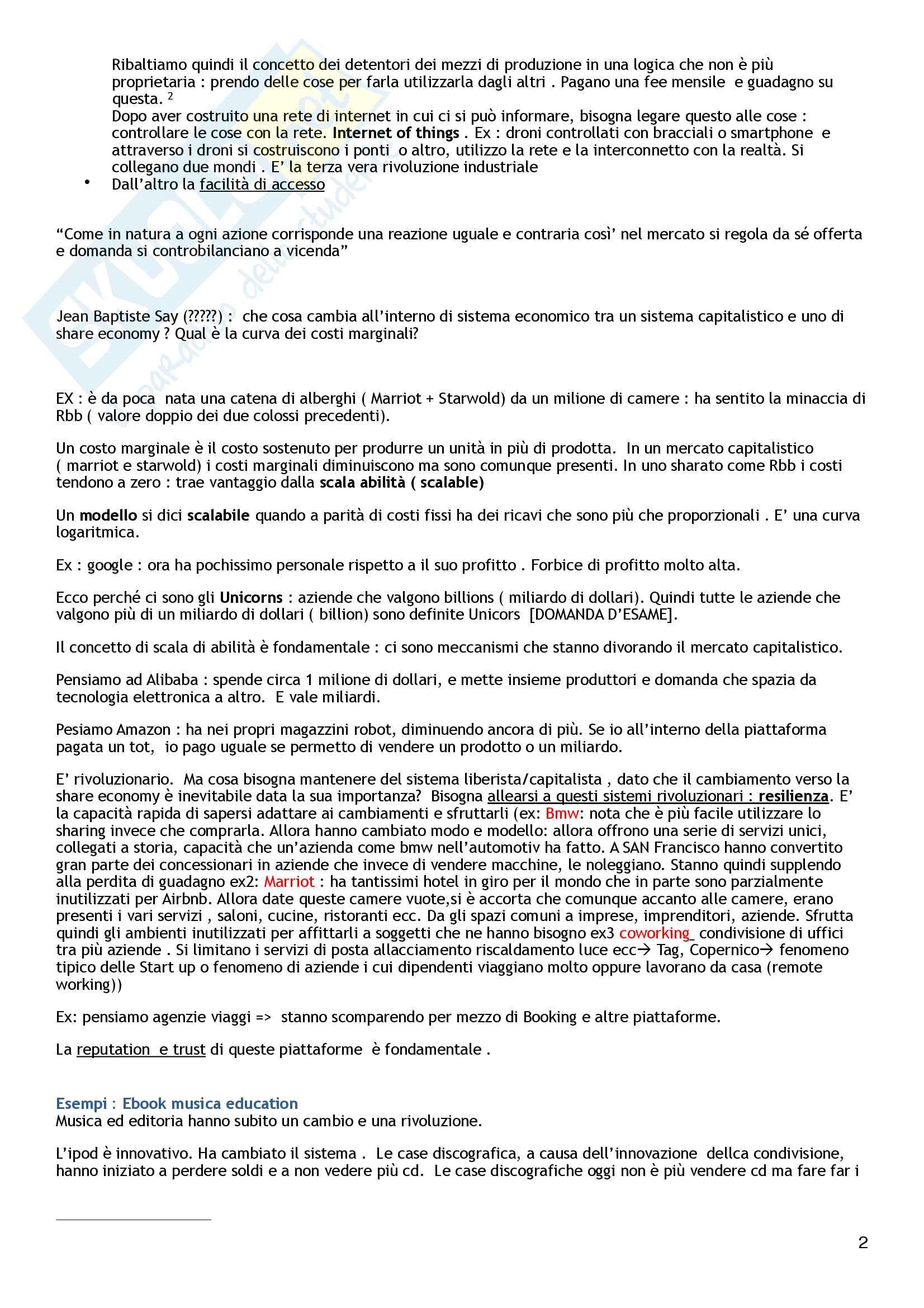 Strategia e Politica Aziendale  - 2°Parziale Pag. 2