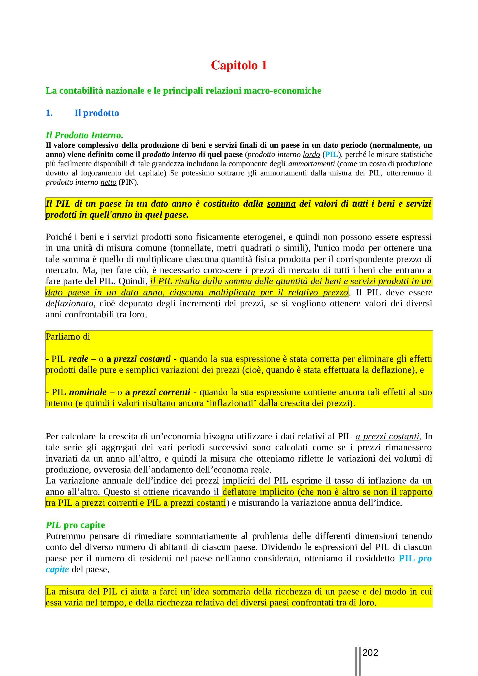 Macroeconomia - Appunti Pag. 2