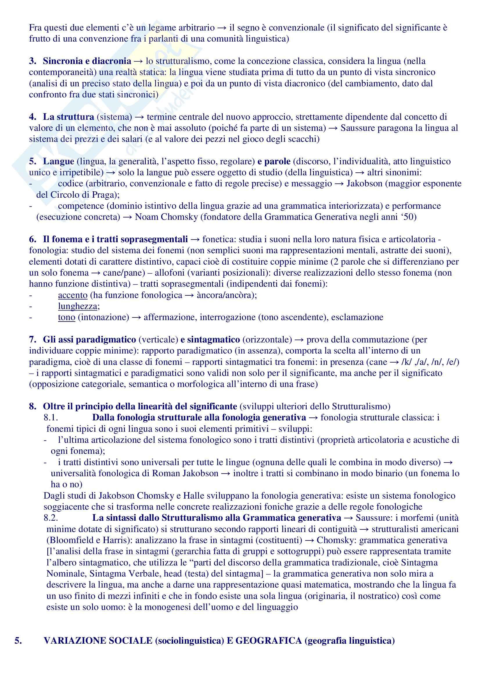 Riassunto esame Filologia Romanza, prof. Sacchi, libro consigliato Manuale di Linguistica e Filologia Romanza, Renzi, Andreose Pag. 6