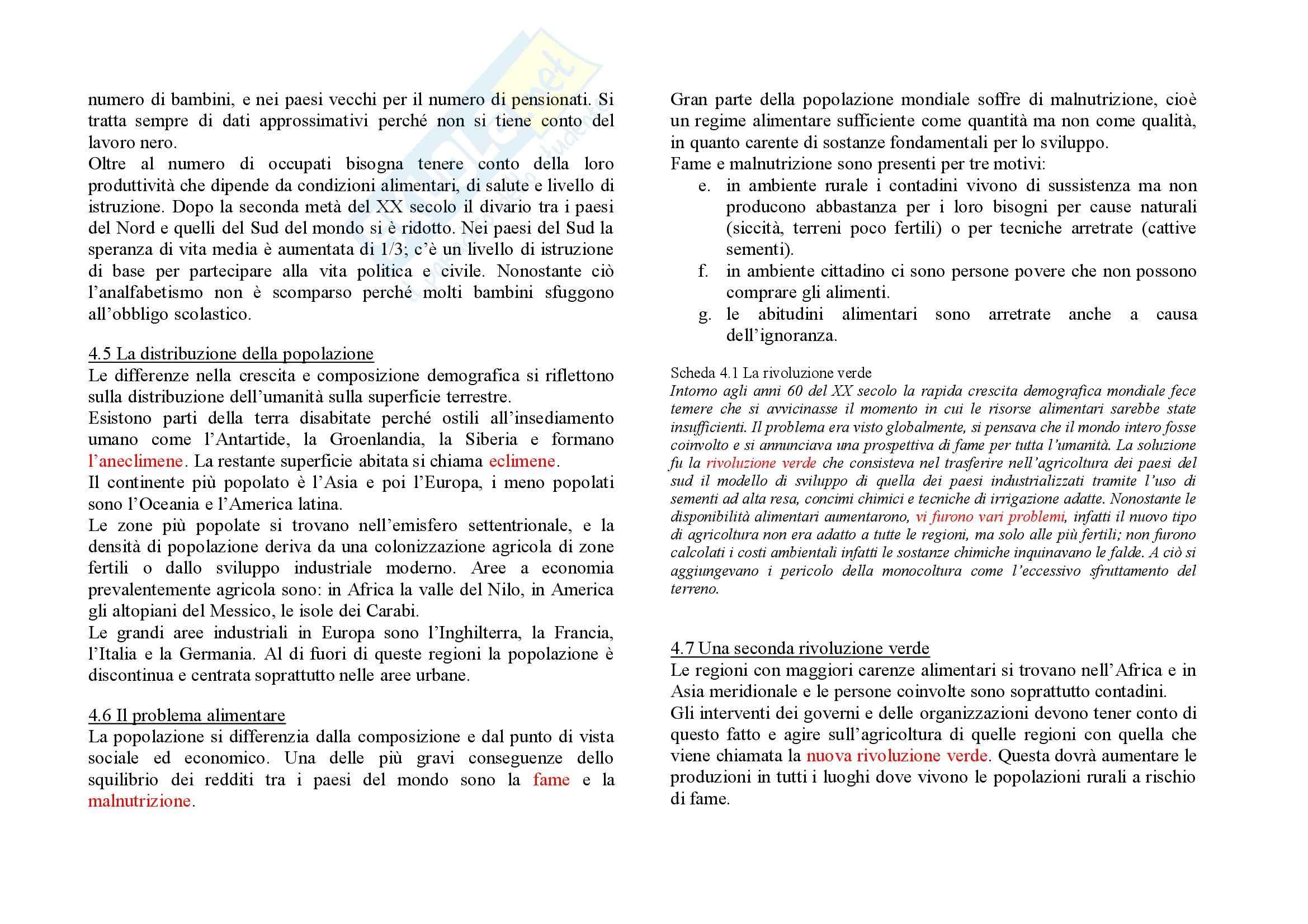Geografia dell'economia mondiale - Riassunto esame, prof. Agostaro Pag. 16