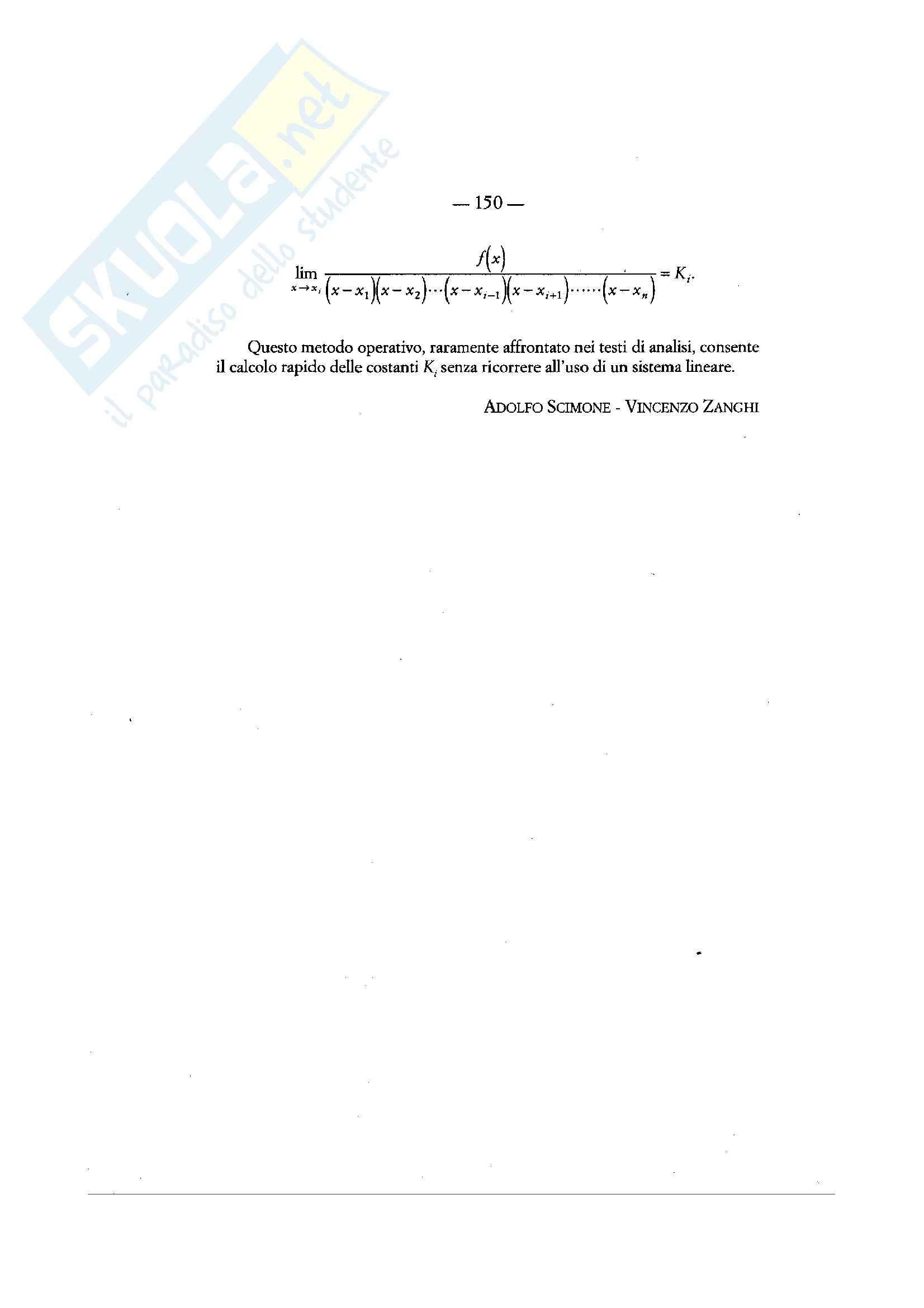 Matematica per le applicazioni I - limiti e successioni Pag. 2