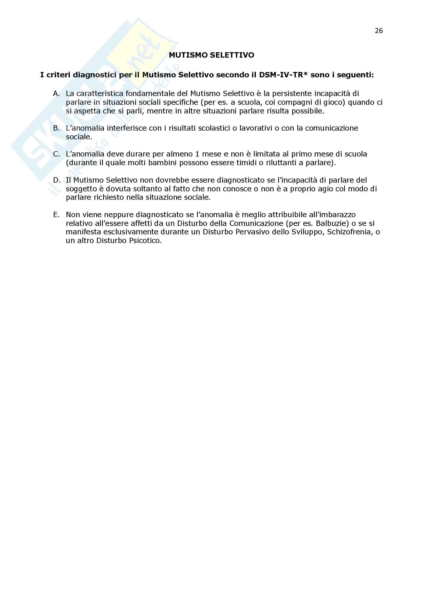 Psicologia clinica - Appunti Pag. 26