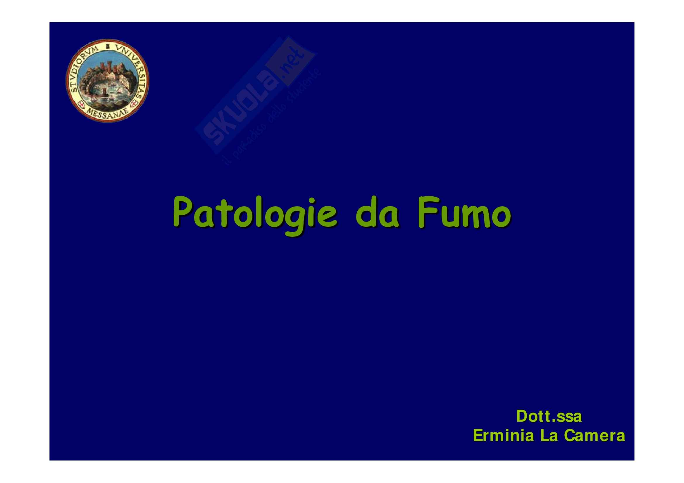 Patologia generale - patologie da agenti ambientali