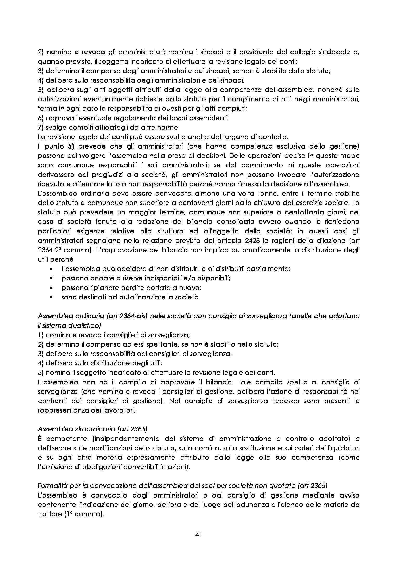 Diritto commerciale  - Appunti delle lezioni Pag. 41