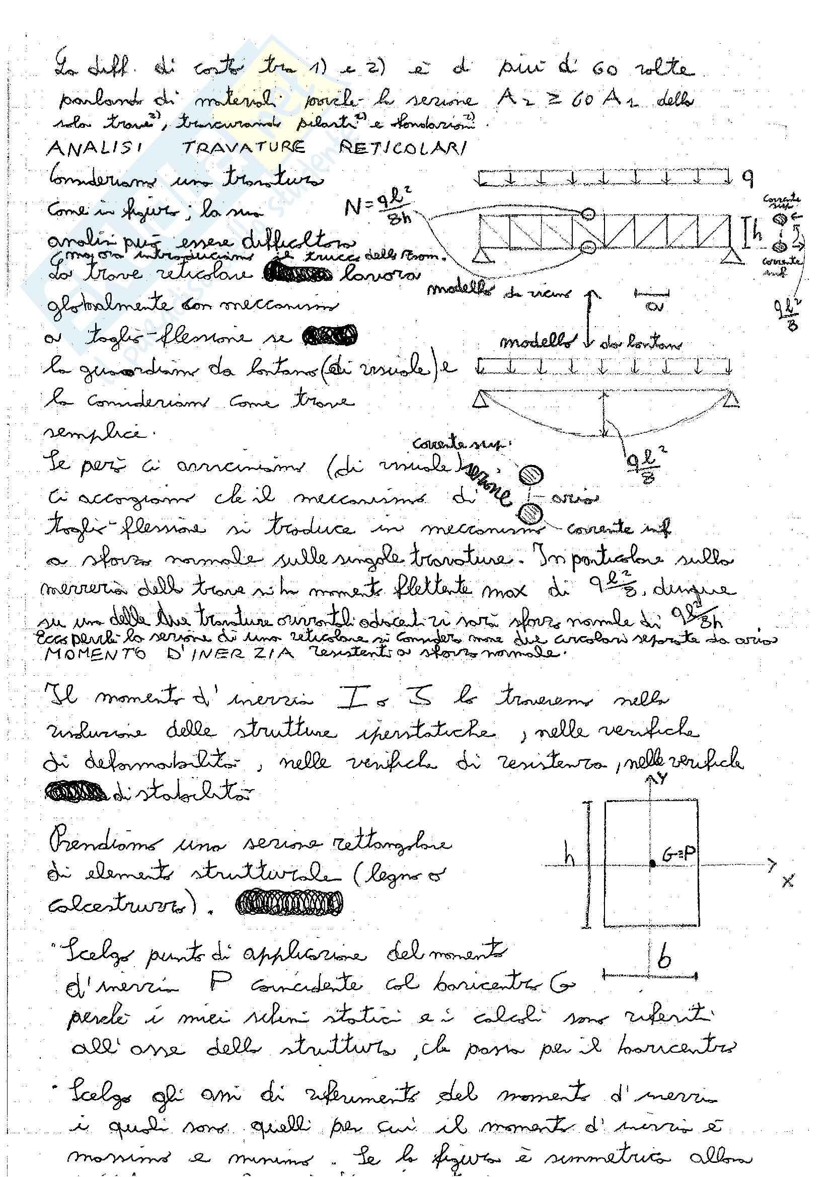 Tecnica delle Costruzioni - Appunti Pag. 26
