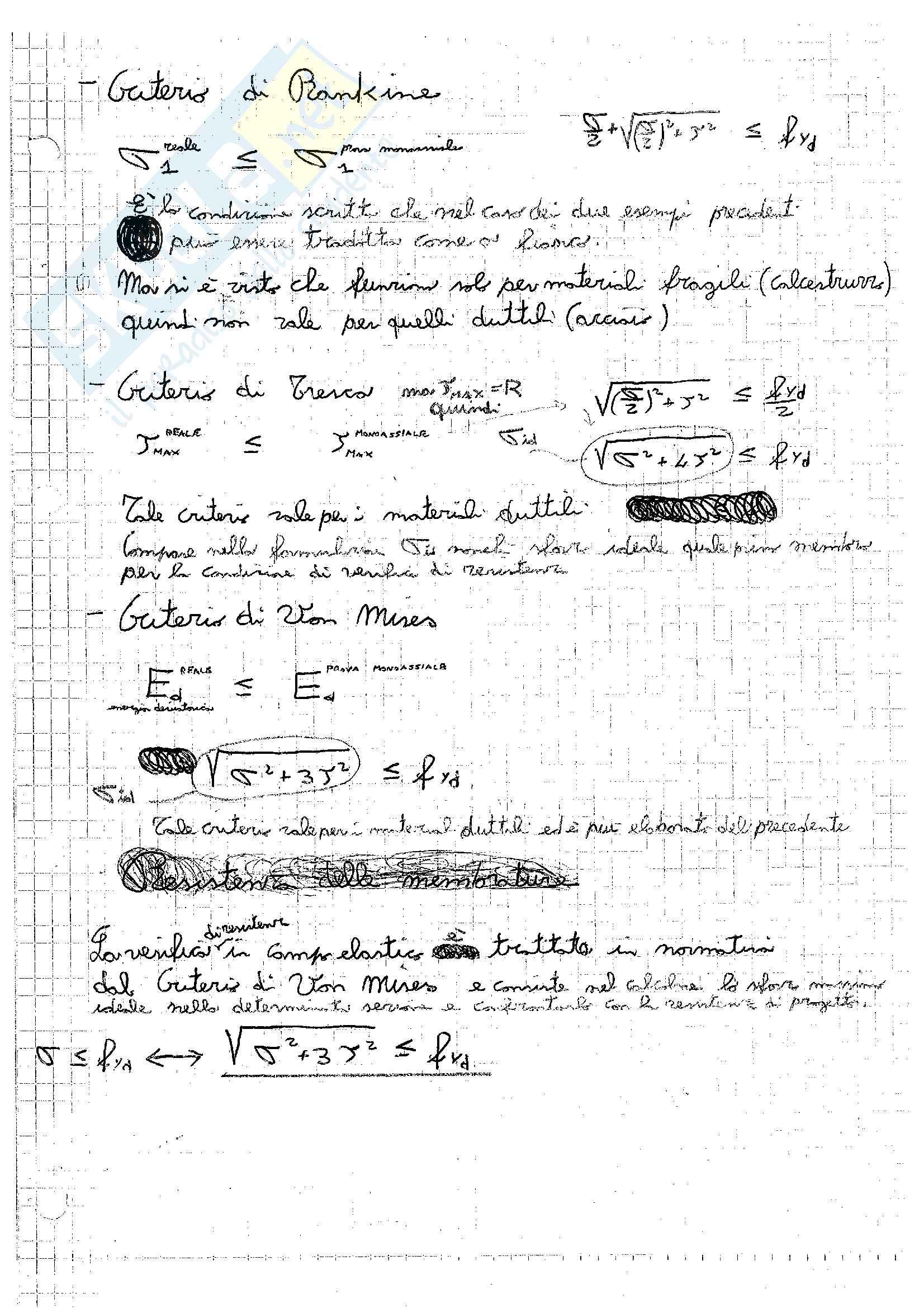 Tecnica delle Costruzioni - Appunti Pag. 71