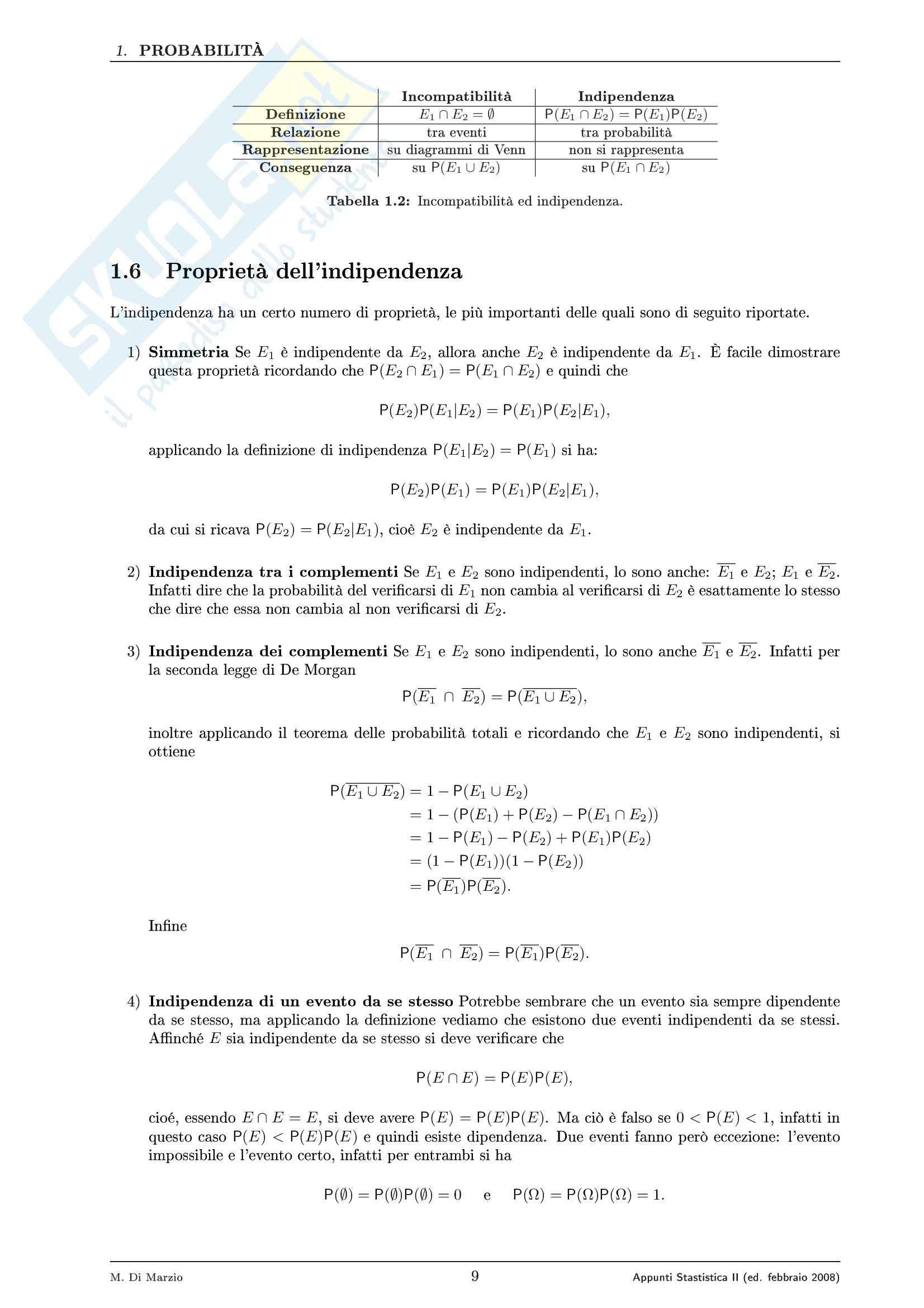 Statistica – Dispensa parte 2 Pag. 16
