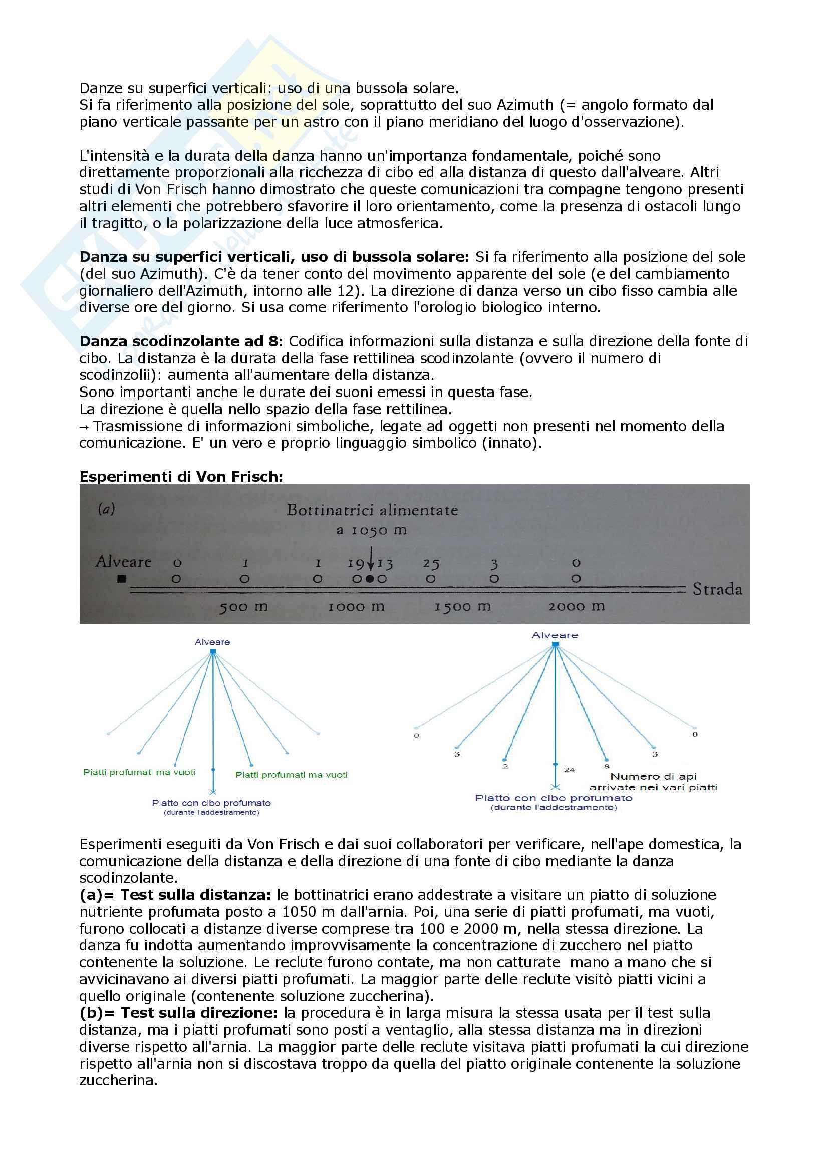 Etologia A.A 15/16 (6CFU). Esame opzionale del 3 anno, scienze naturali ed ambientali Pag. 26