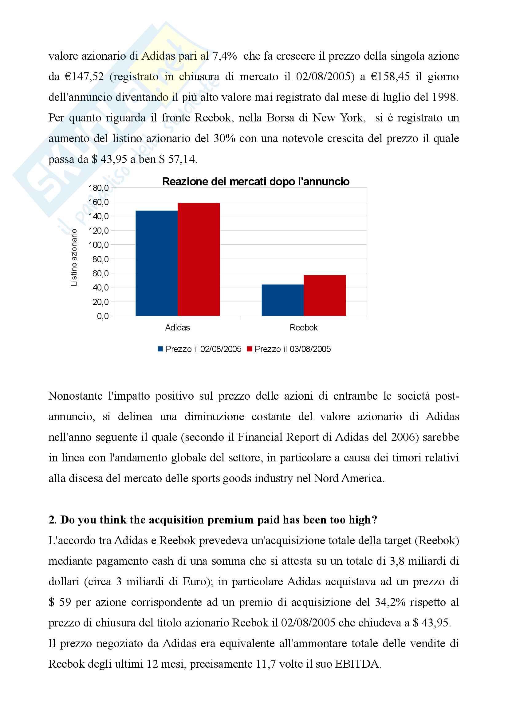 Case Study Adidas Reebok Michele Laudadio PDF1 Pag. 2