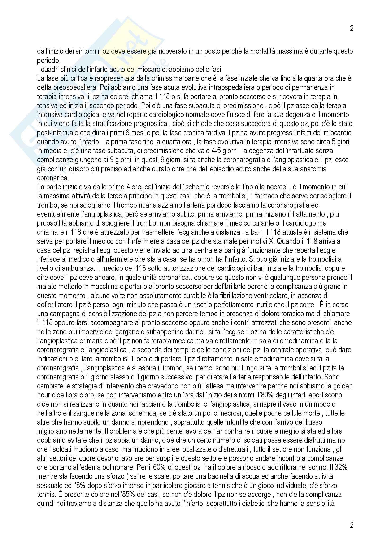 Cardiologia - IMA Pag. 2